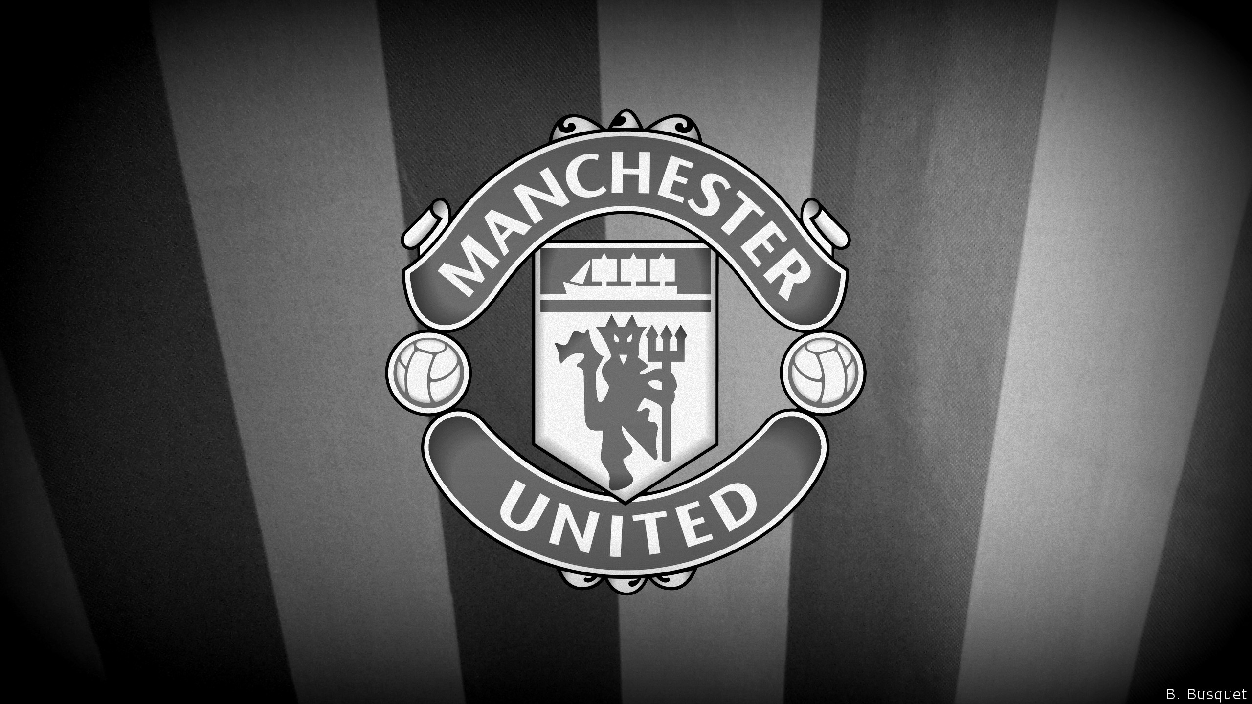 Res: 2560x1440, Manchester United Black Wallpapers Picture