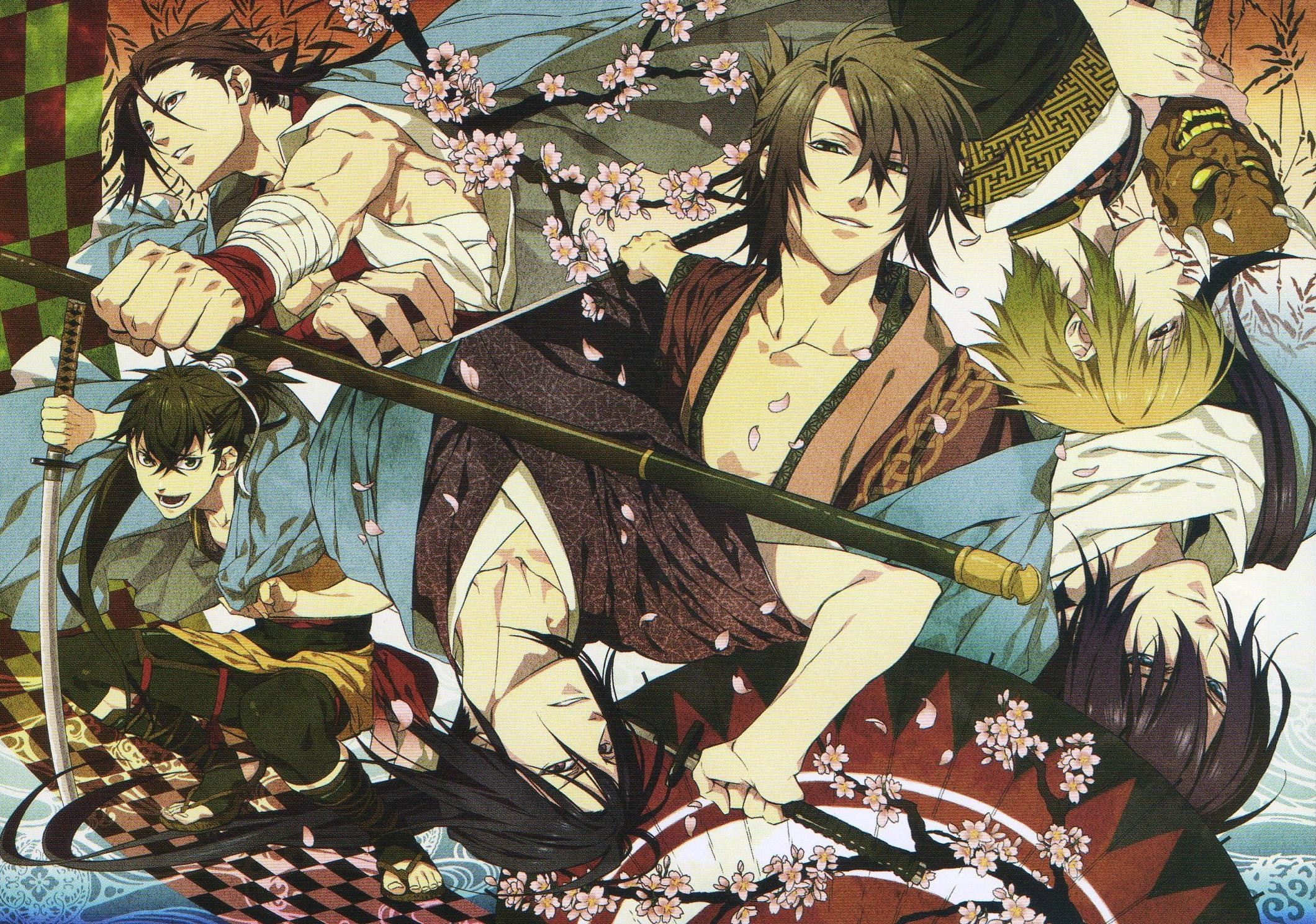 Res: 2120x1489, Hakuouki Shinsengumi Kitan Wallpapers