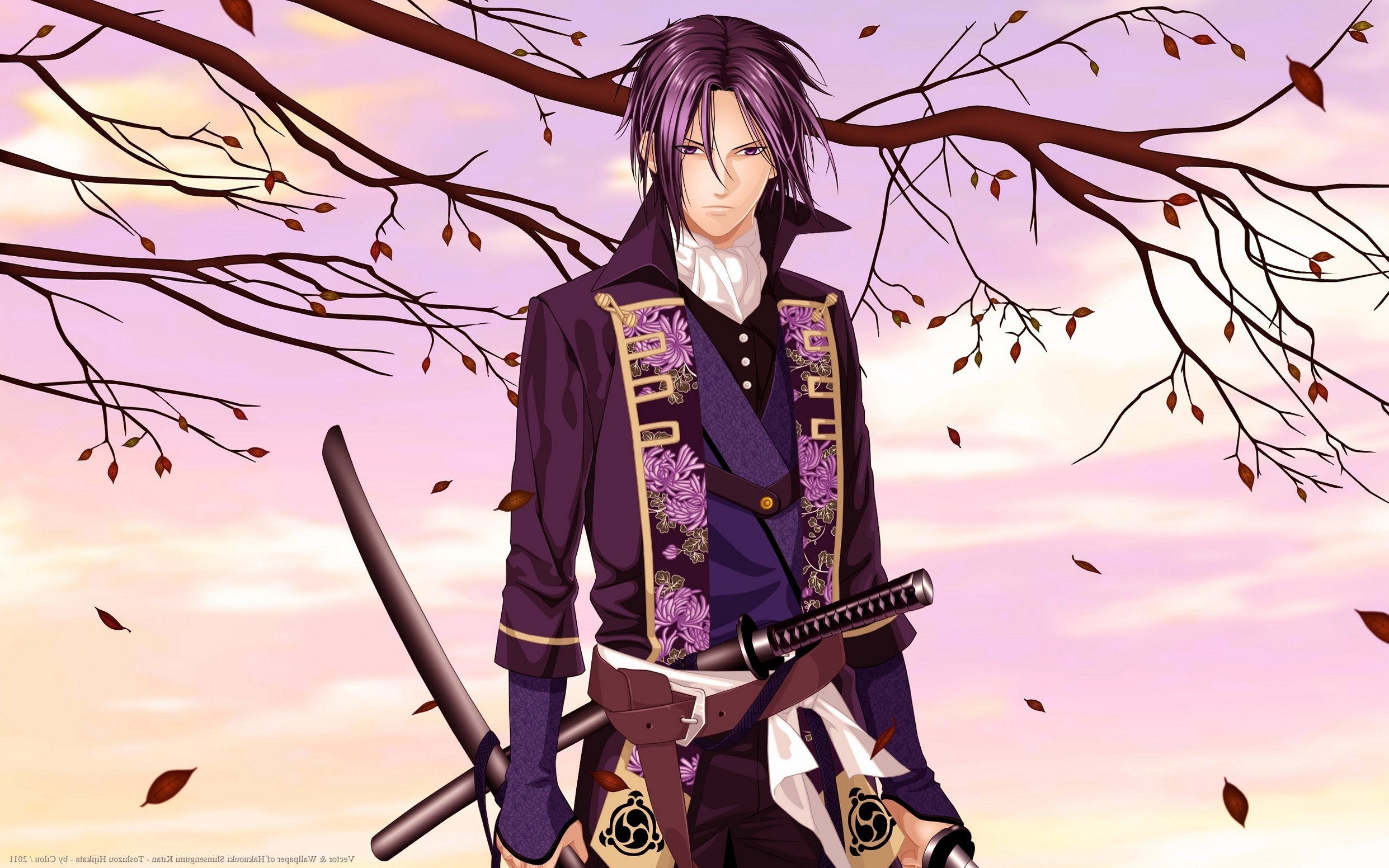 Res: 2483x1552,  Hakuouki Shinsengumi Kitan Saito Hajim Magnificient Cool Anime  Wallpapers