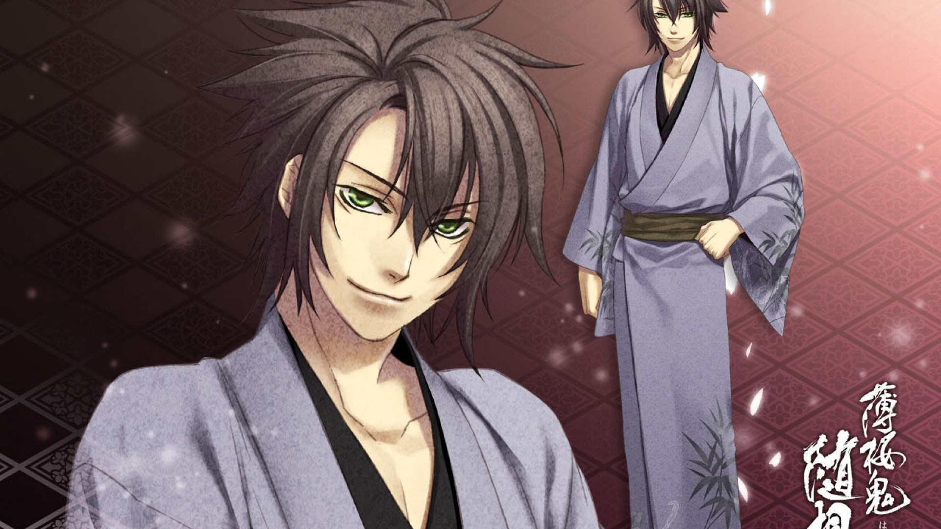 Res: 1920x1080, ... boy news, pictures and videos and learn all about hakuouki shinsengumi  kitan, okita souji, boy from wallpapers4u.org, your wallpaper news source.