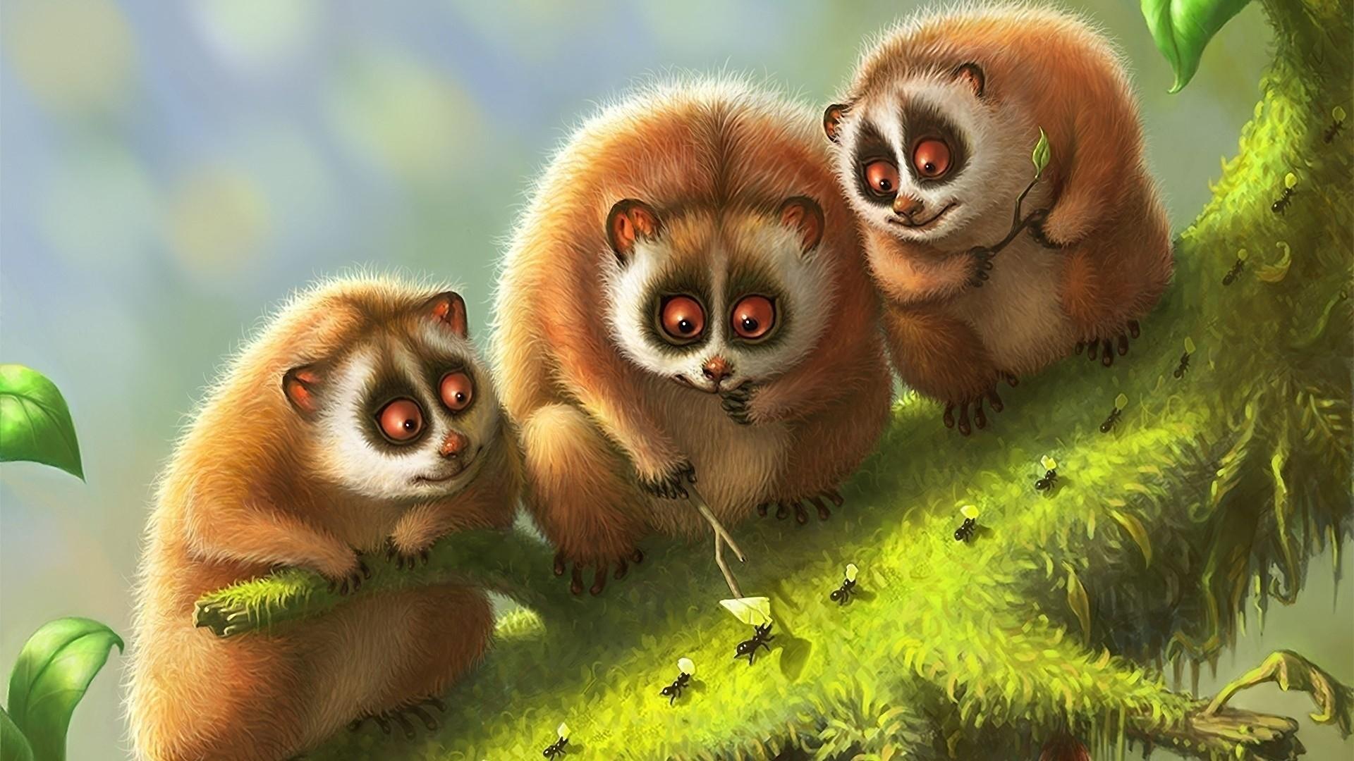 Res: 1920x1080, Lemur Wallpapers