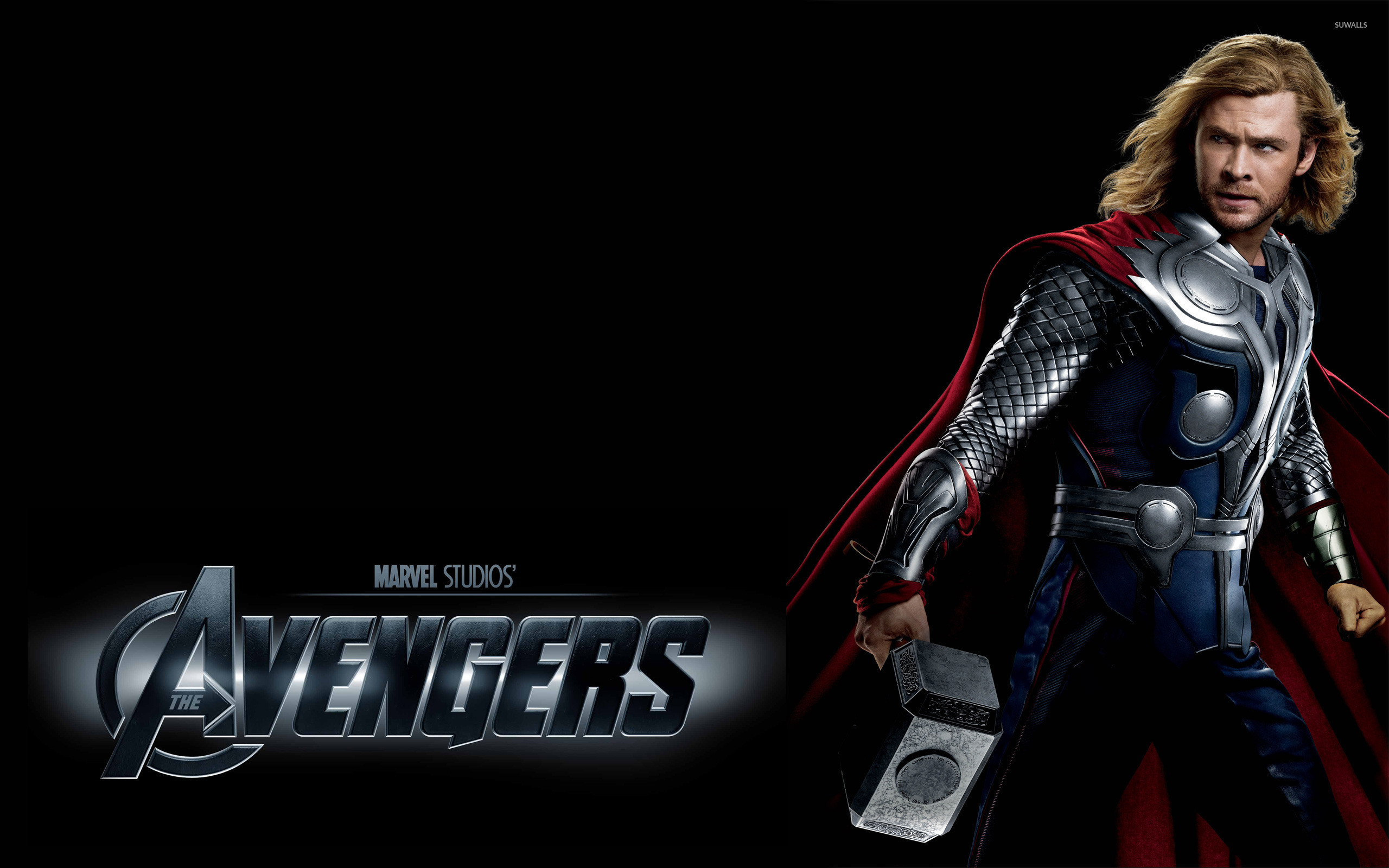 Res: 2560x1600, Thor - The Avengers wallpaper
