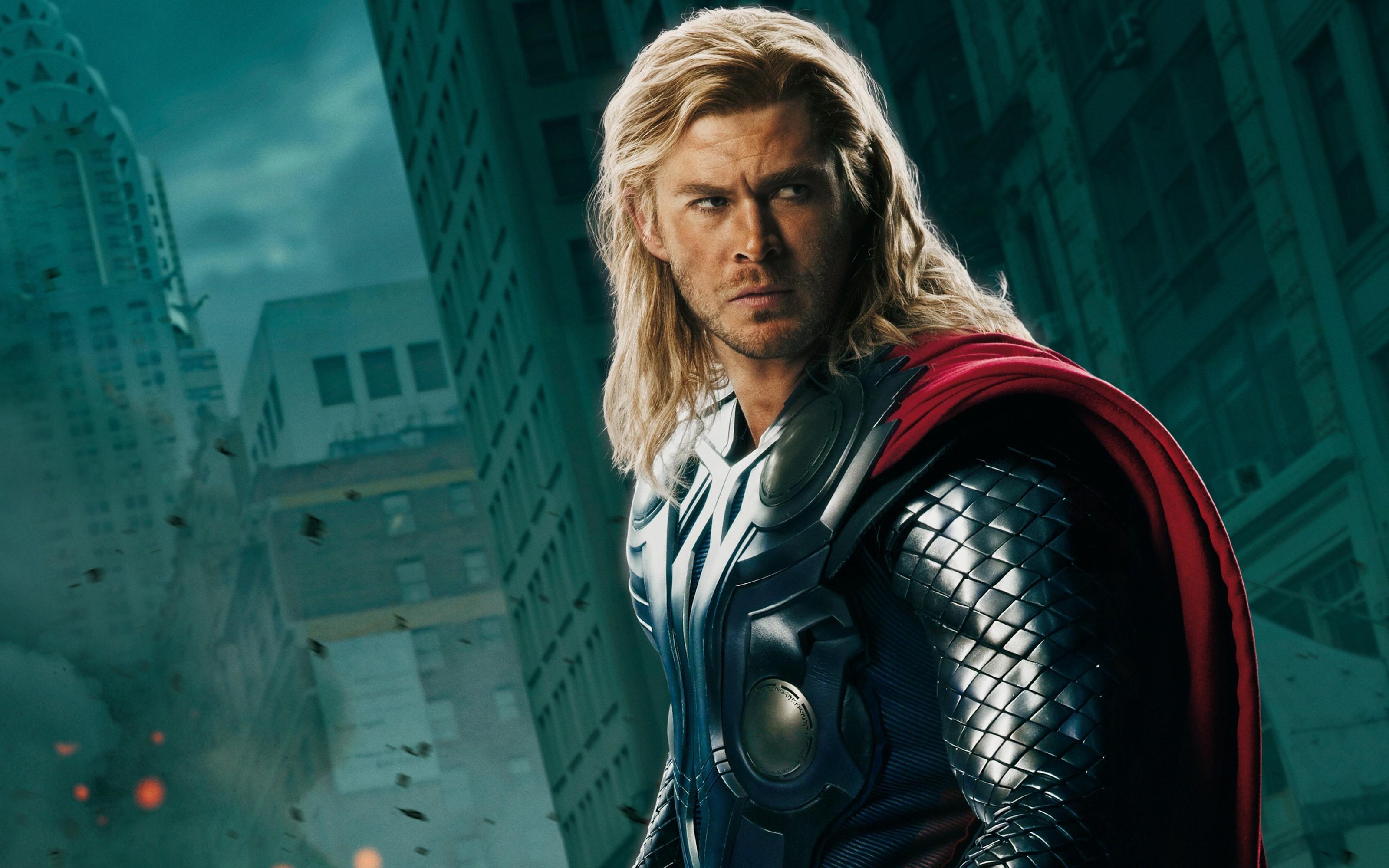 Res: 3200x2000, Chris hemsworth the avengers movie thor wallpaper