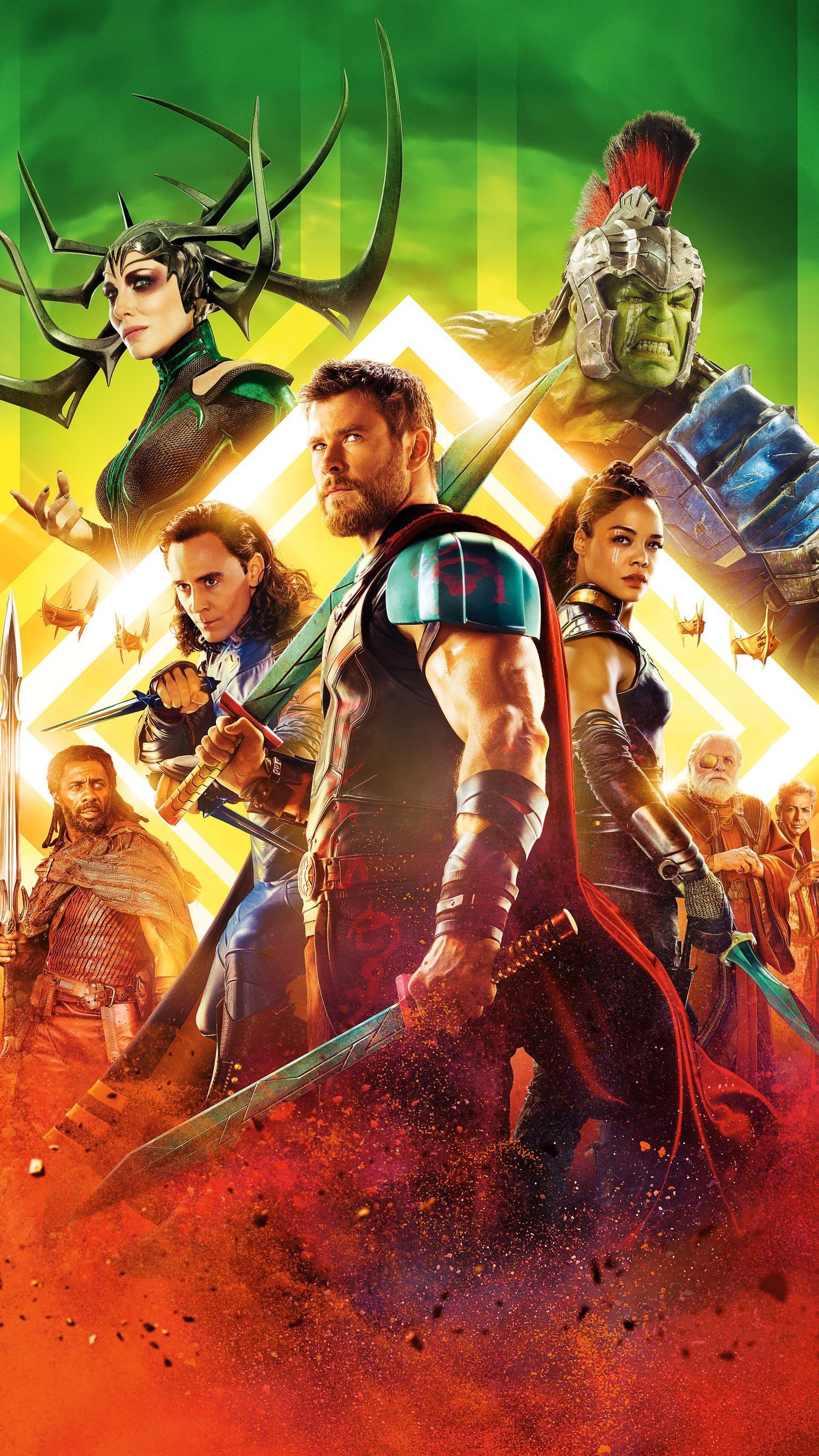 """Res: 1536x2732, Wallpaper for """"Thor: Ragnarok"""" ..."""