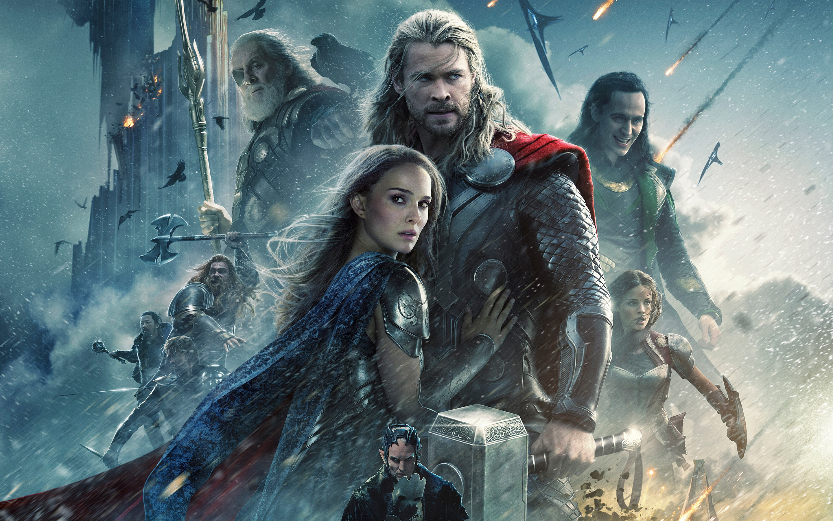 Res: 2880x1800, 67 Thor: The Dark World HD Wallpapers | Background Images - Wallpaper Abyss