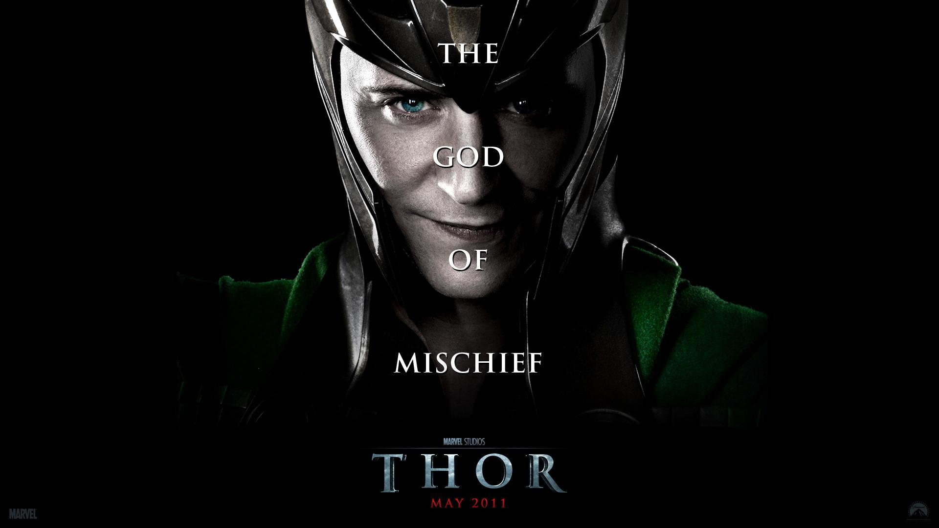 Res: 1920x1080, Loki from the Marvel Studios movie Thor wallpaper