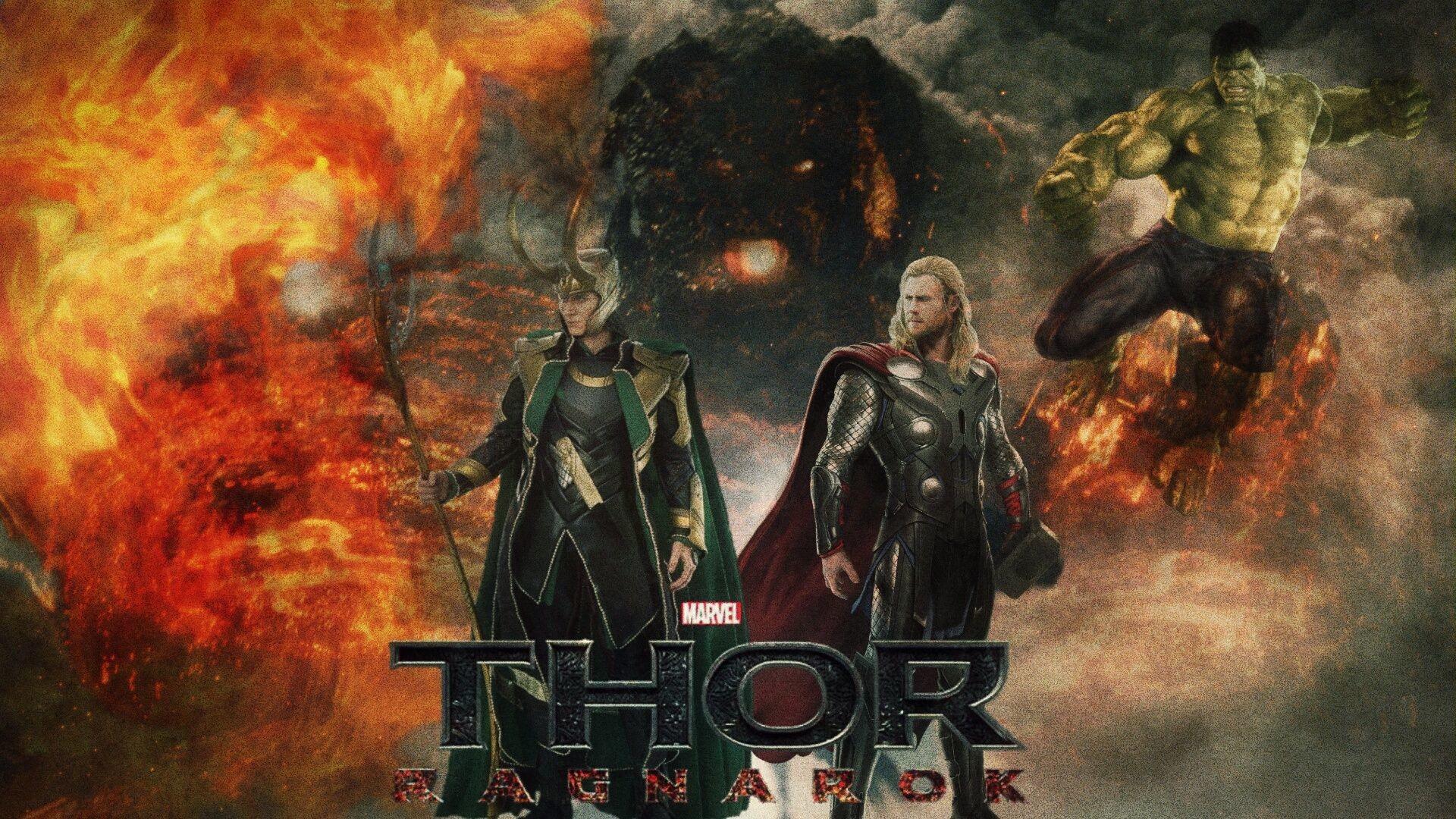 Res: 1920x1080, Movie · Thor Ragnarok HD Images ...