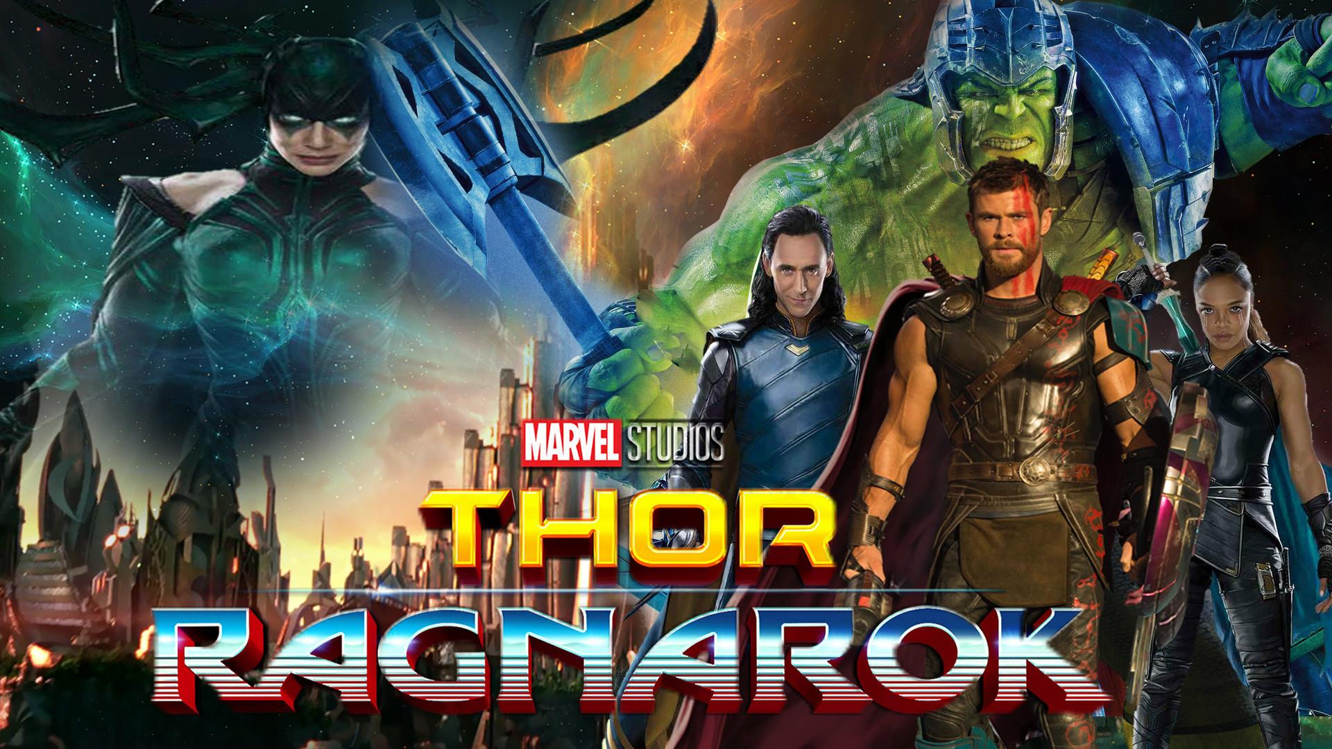 Res: 1920x1080, ... Thor: Ragnarok Wallpaper by The-Dark-Mamba-995