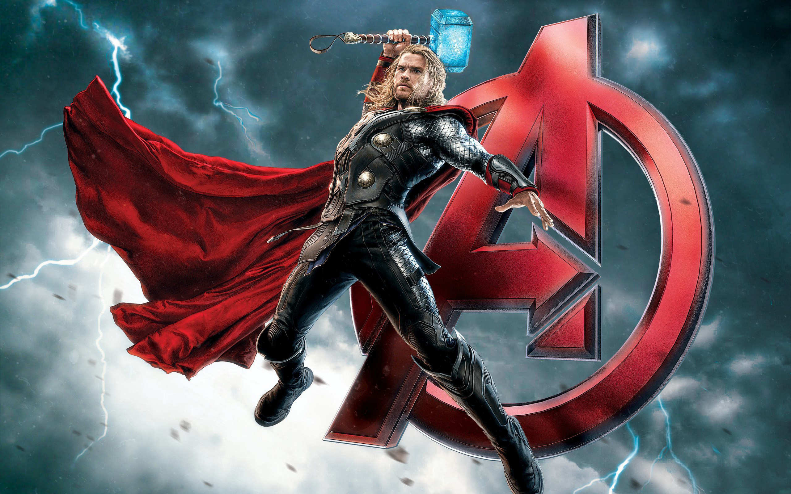 Res: 2560x1600, The Avengers Thor
