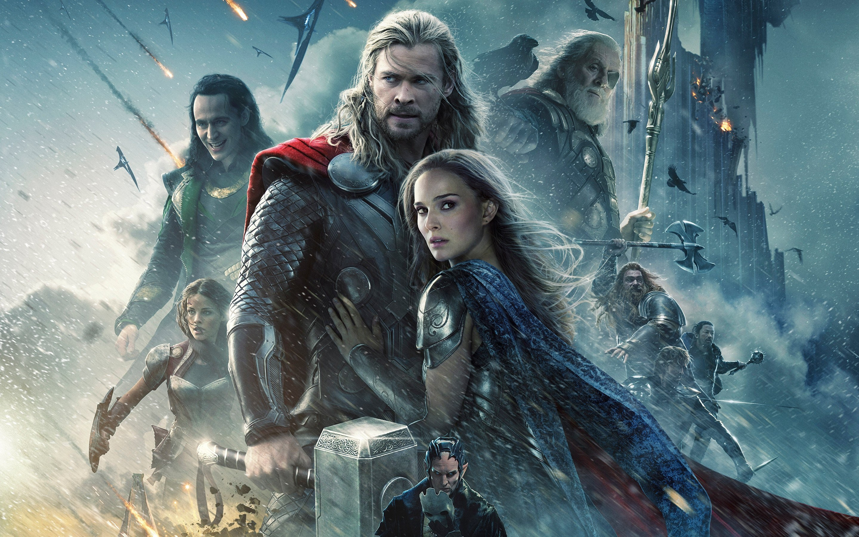 Res: 2880x1800, Thor: The Dark World Wallpapers