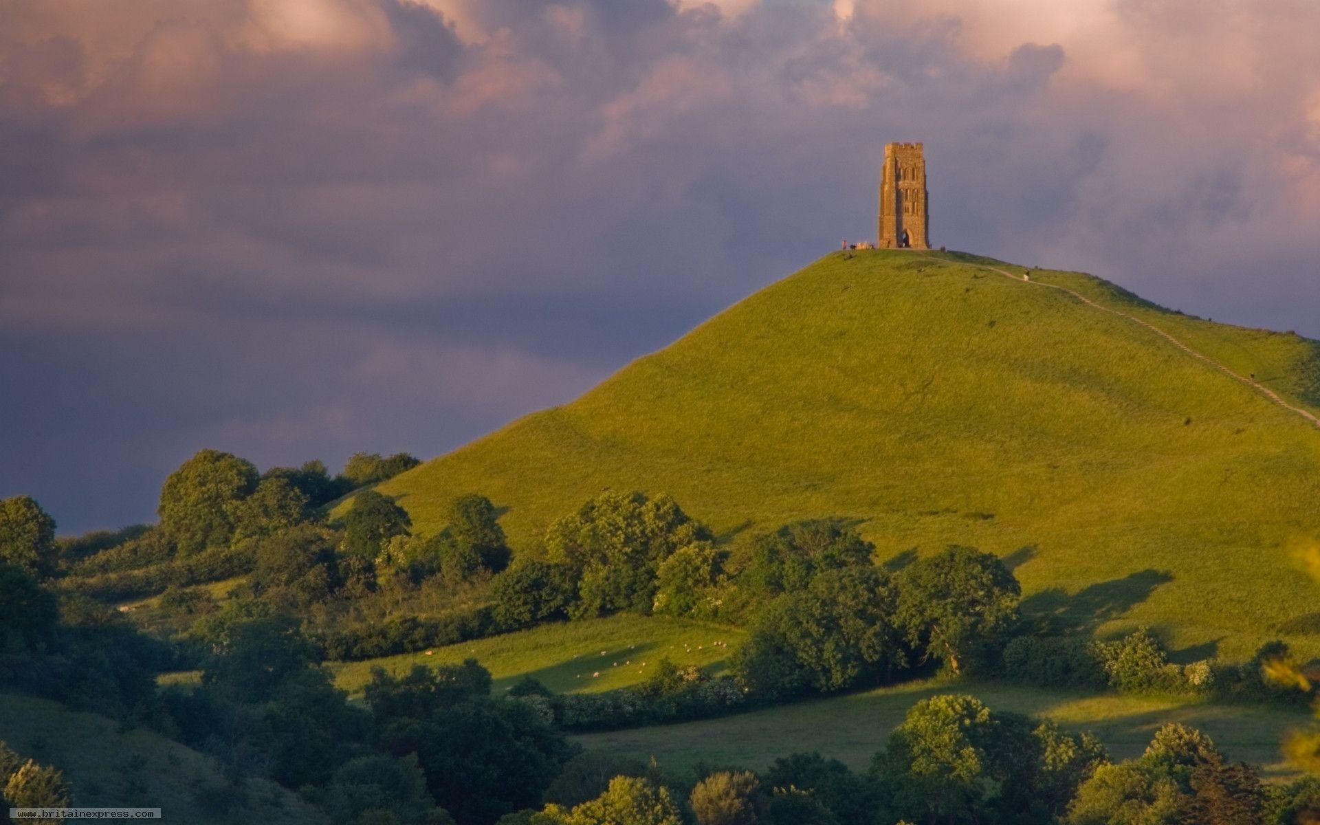 Res: 1920x1200, Glastonbury Tor wallpaper - 8914