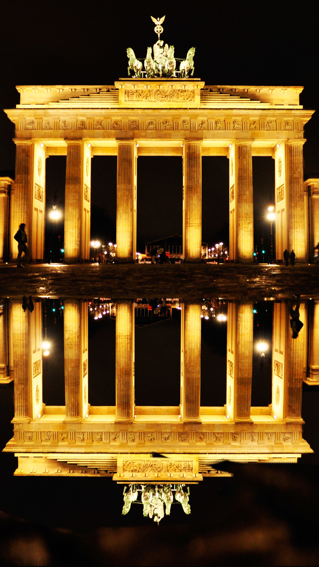 Res: 1080x1920, Man Made / Brandenburg Gate () Mobile Wallpaper