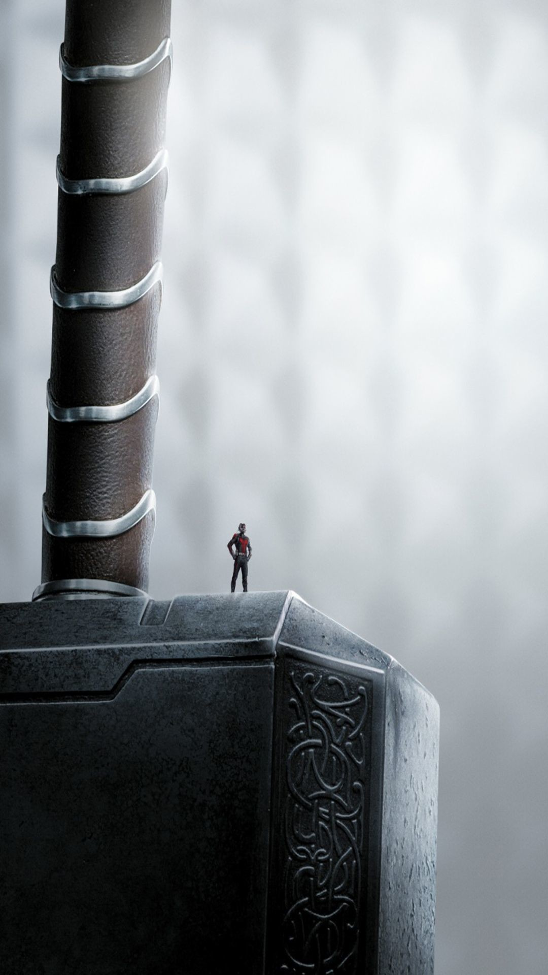 Res: 1080x1920, Art Creative Ant Man Movie Cinema Superhero Hammer Tor HD iPhone 6 Plus  Wallpaper