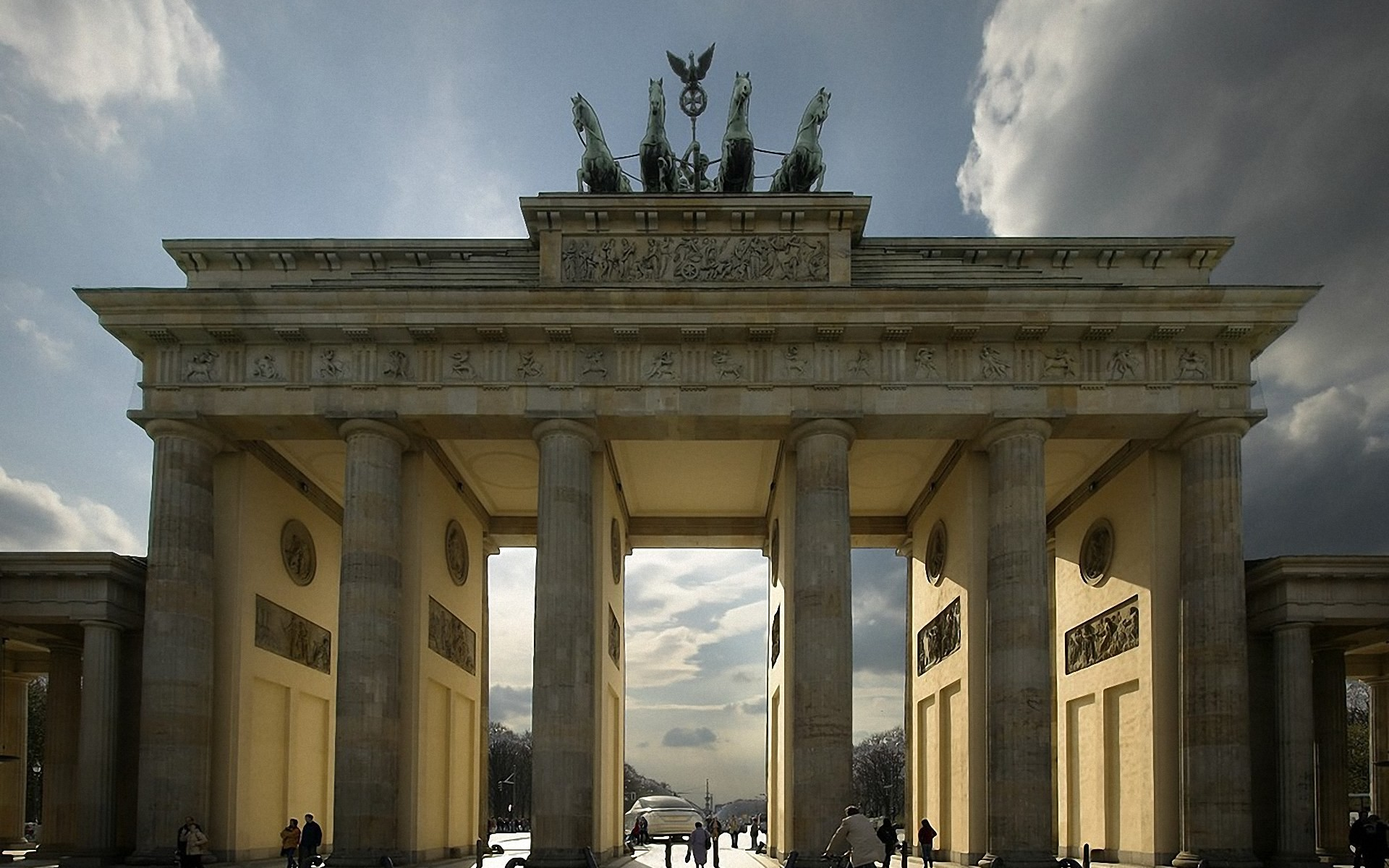 Res: 1920x1200, Brandenburger Tor Wallpaper