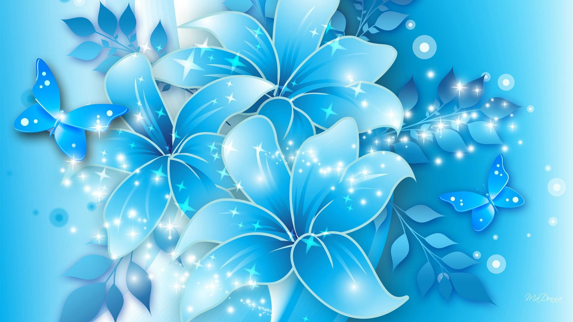 Res: 1920x1080, Blue Flower Wallpaper High Resolution