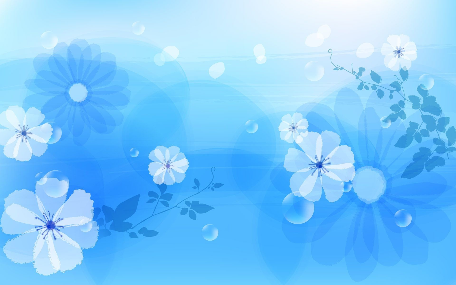 Res: 1920x1200, Blue Flower