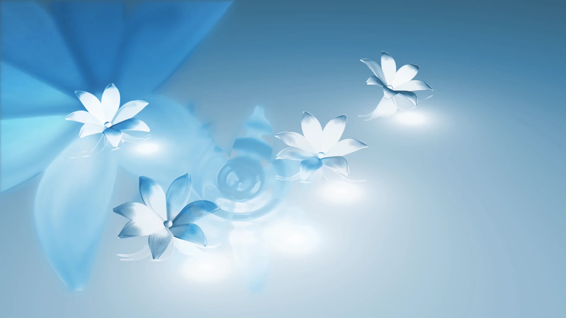 Res: 1920x1080, Blue Flowers Background 35 Free Hd Wallpaper