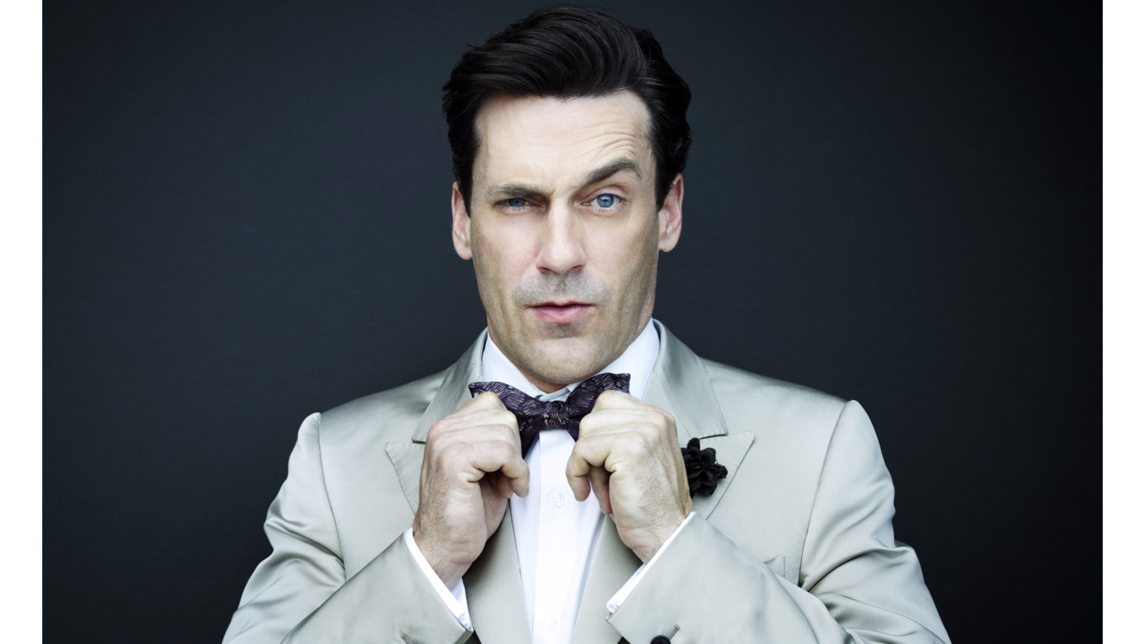 Res: 3840x2160, Best 2016 Jon Hamm 4K Wallpaper