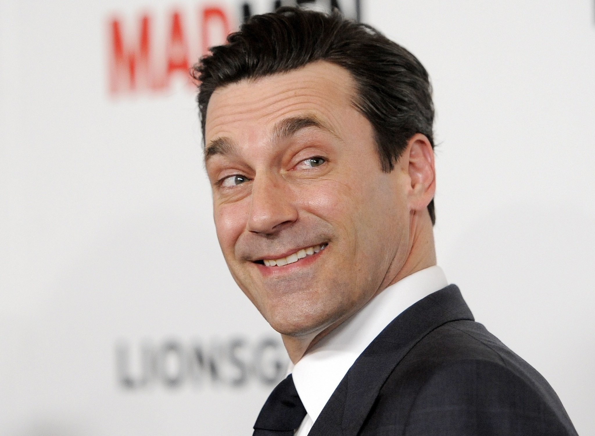 Res: 2048x1502, Jon Hamm Smile Wallpaper 57461
