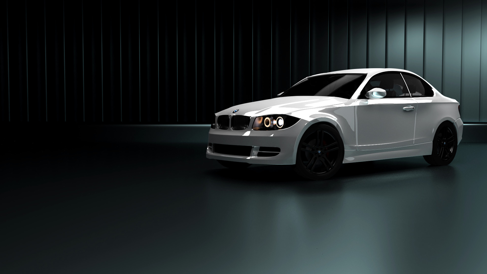 Res: 1920x1080, BMW 135i [Cycles]