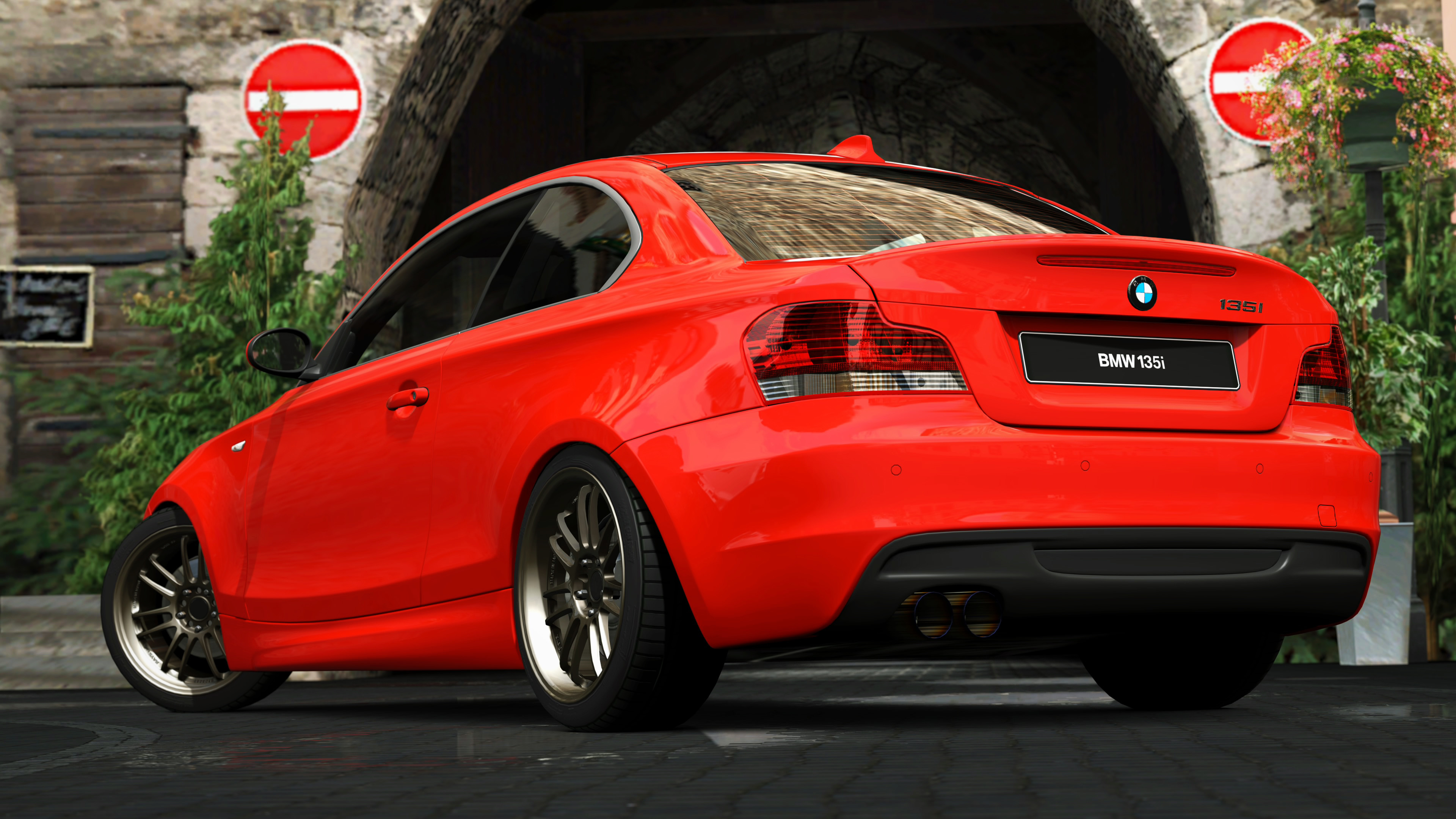 Res: 3840x2160, ... 2007 BMW 135i Coupe (Gran Turismo 5) by Vertualissimo
