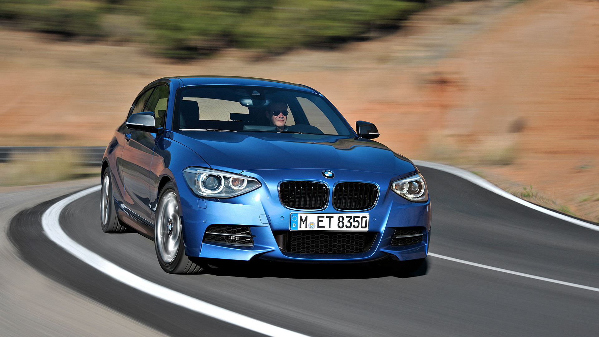 Res: 1920x1080, 2013 BMW M135i picture