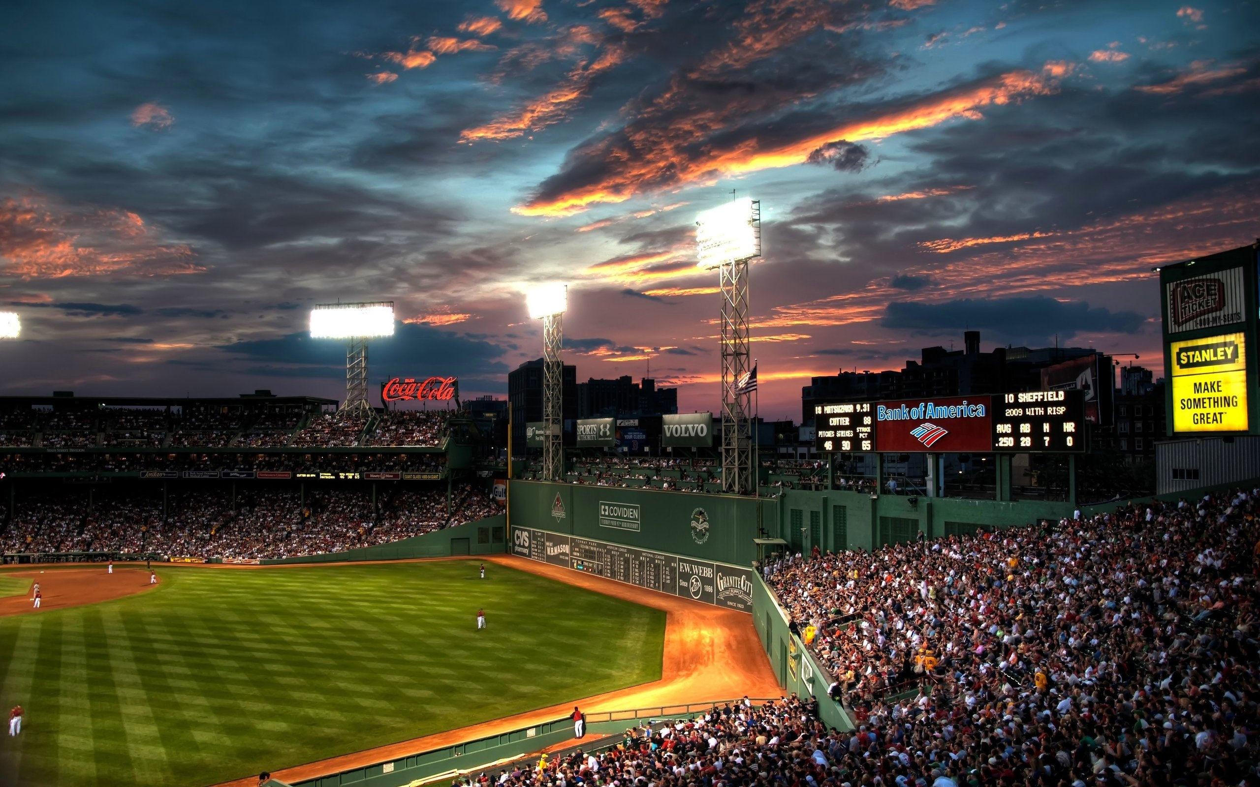 Res: 2560x1600, Sports - Boston Red Sox Fenway Park Wallpaper