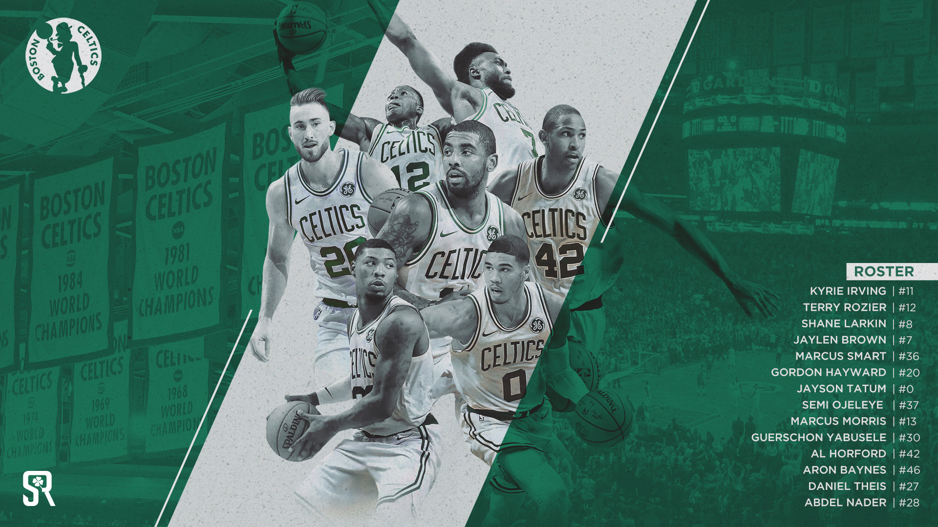 Res: 1920x1080, Boston Celtics Wallpapers 21 - 1920 X 1080