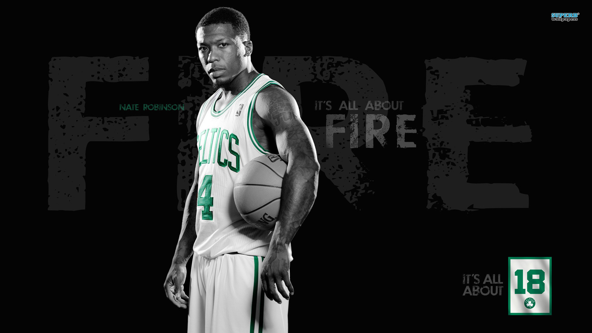 Res: 1920x1080, Nate, Robinson, Basketball, Nba, Boston, Celtics, , , Game, Sport Photos,  American Baseball League, 1920×1080 Wallpaper HD