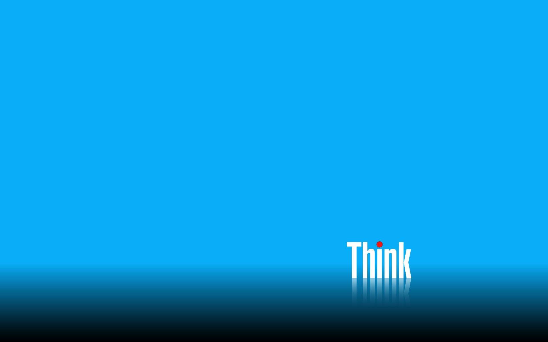 Res: 1920x1200, Blue Lenovo Thinkpad Wallpaper.