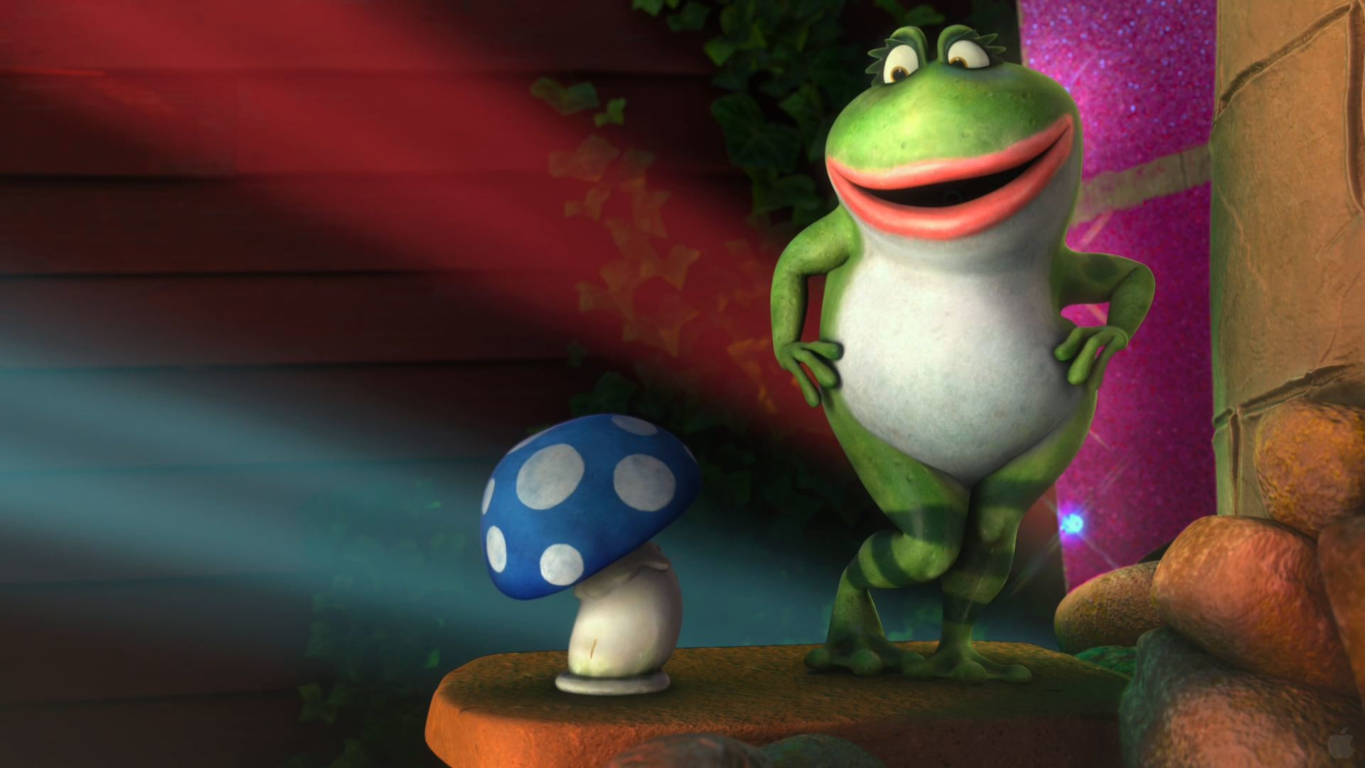 Res: 1920x1080, Nanette and Shroom from Disney's Gnomeo and Juliet movie wallpaper
