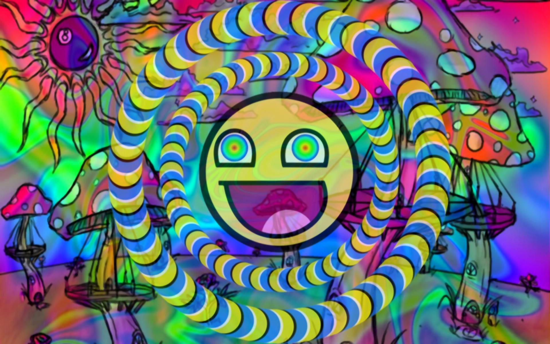 Res: 1920x1200, Cool Trippy Wallpaper Awesome Trippy Shroom Wallpapers Hd Impremedia Of  Best Of Cool Trippy Wallpaper