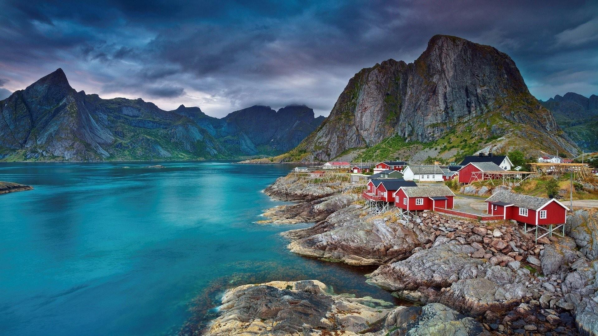 Res: 1920x1080, Lofoten Norway Summertime Images For Desktop Wallpaper