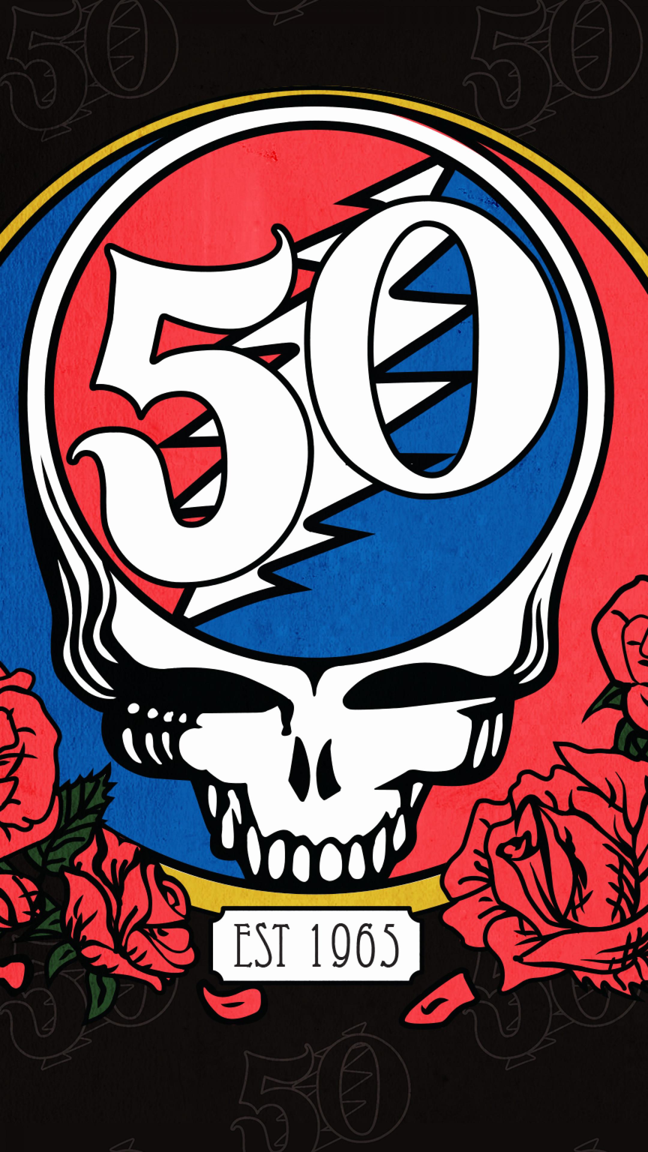 Res: 2160x3840, 16 New Grateful Dead Wallpaper Graphics
