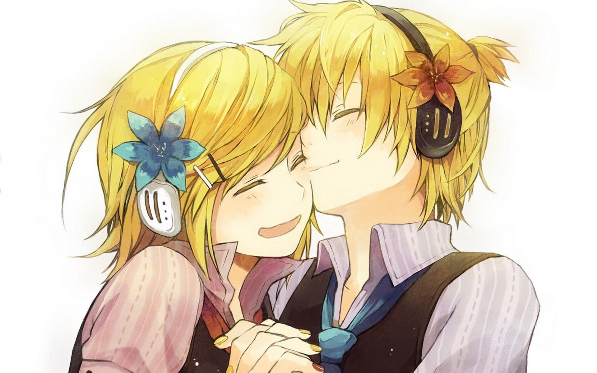 Res: 1920x1200, ... Len and Kagamine Rin - Vocaloid HD Wallpaper