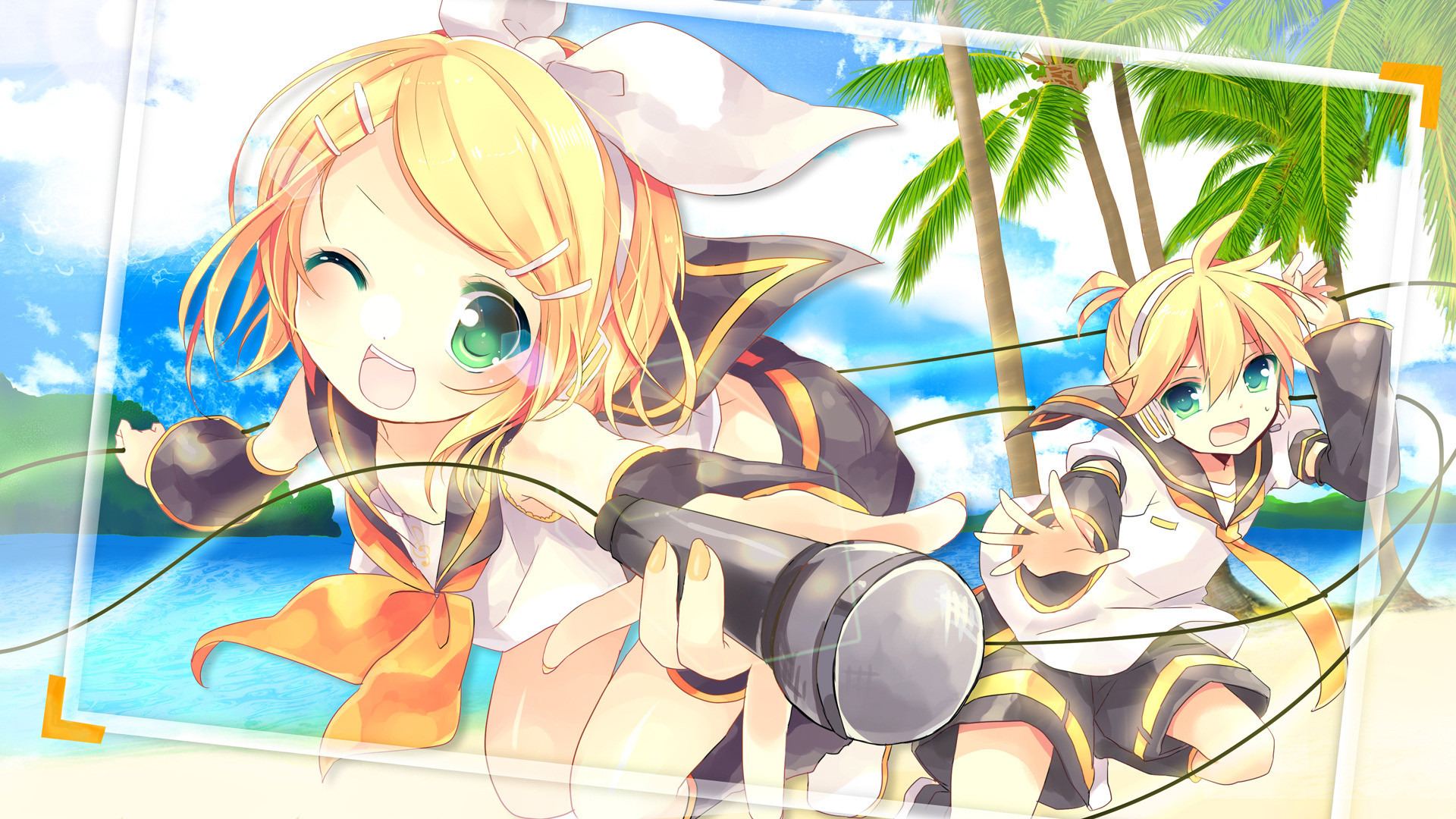 Res: 1920x1080, Kagamine Mirrors · download Kagamine Mirrors image