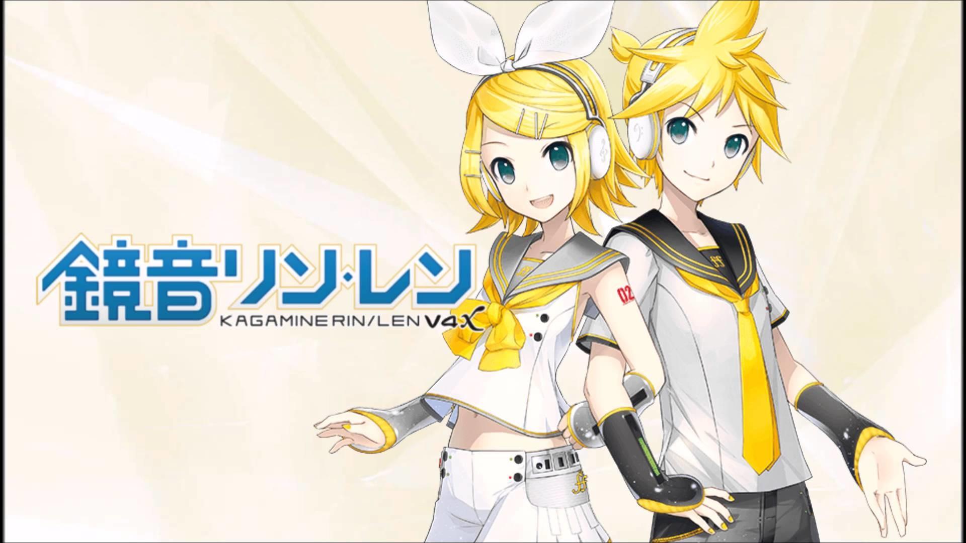 Res: 1920x1080, 【V4x Kagamine Len & Rin】