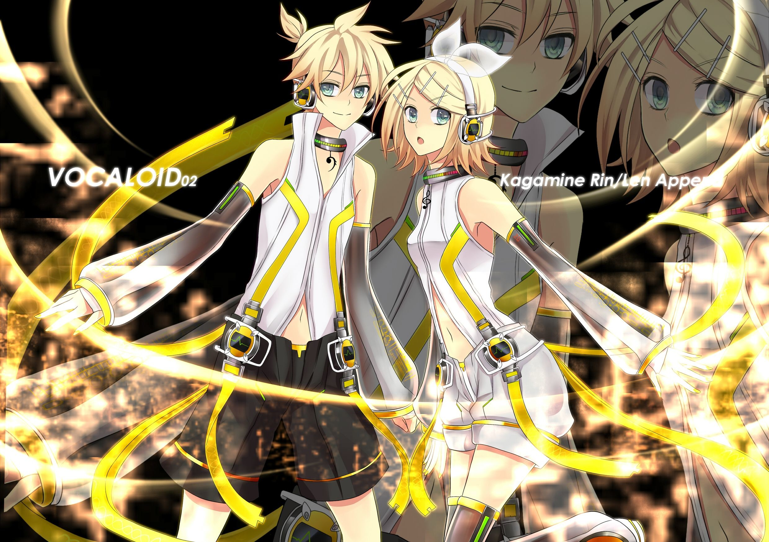 Res: 2480x1748, #kagamine #rin #len append wallpaper