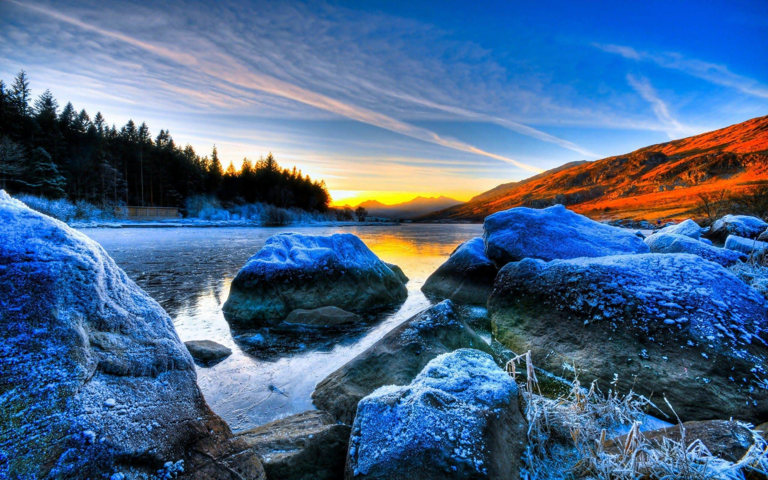 Res: 2560x1600, BW Scenic Wallpaper X Full HD Awesome Scenic