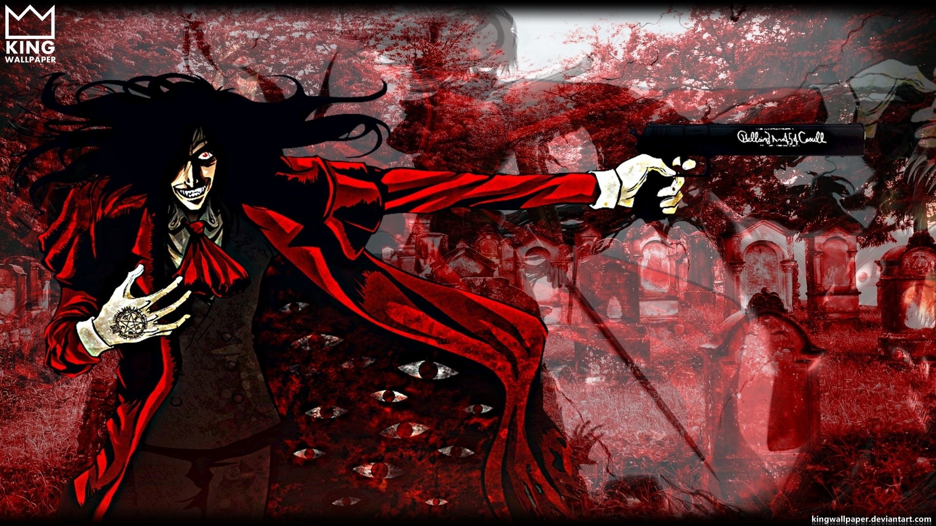 Res: 1920x1080, hellsing wallpaper iphone 6 - Preview wallpaper hellsing alucard art Anime  Pinterest