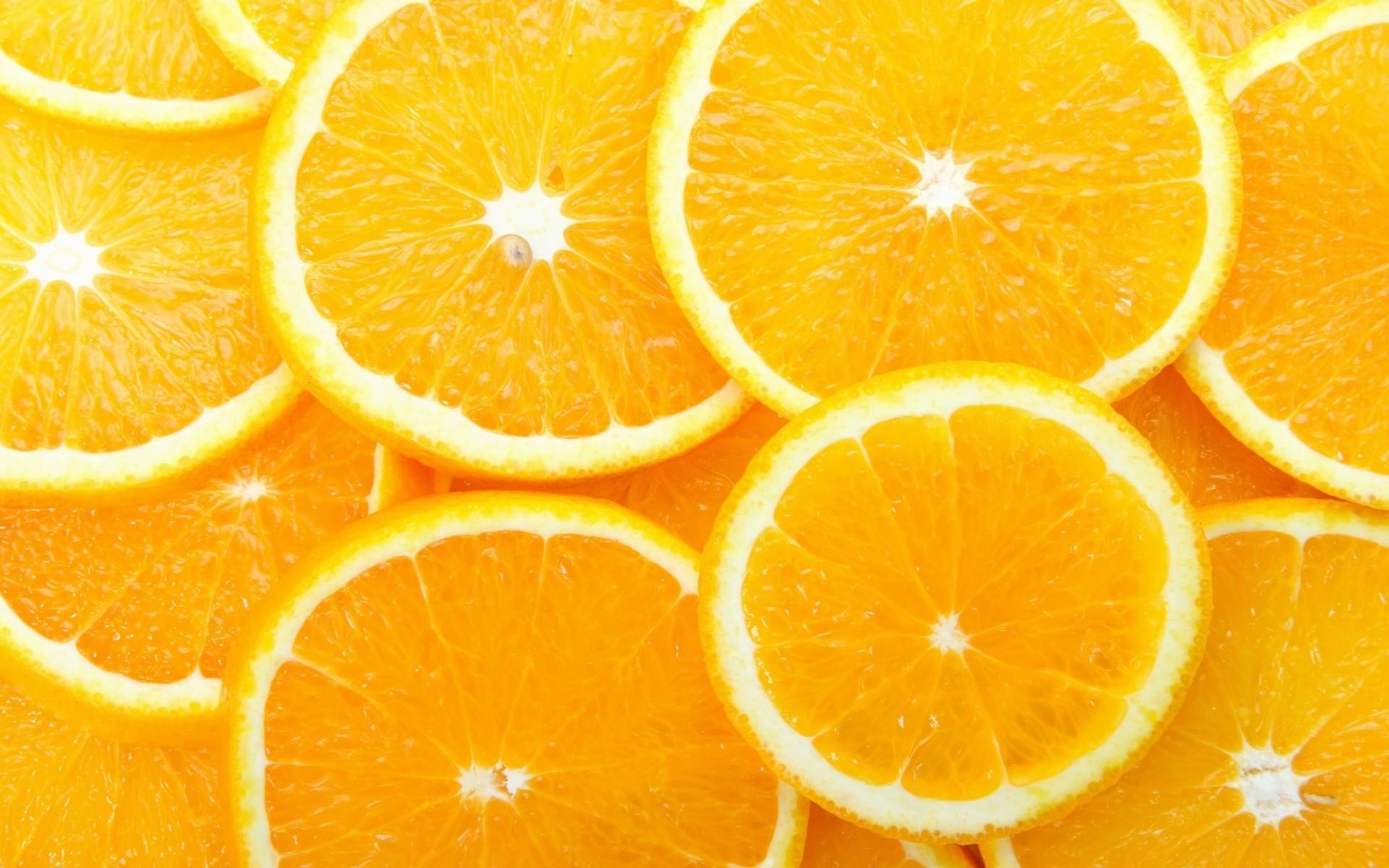 Res: 1920x1200, Orange Slices Wallpaper Fruits Nature