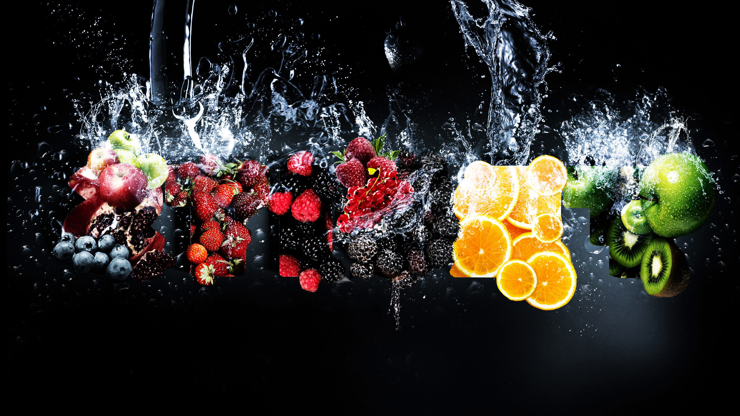Res: 2560x1440, Awesome Fresh Fruits All Wallpaper Image Wallpaper