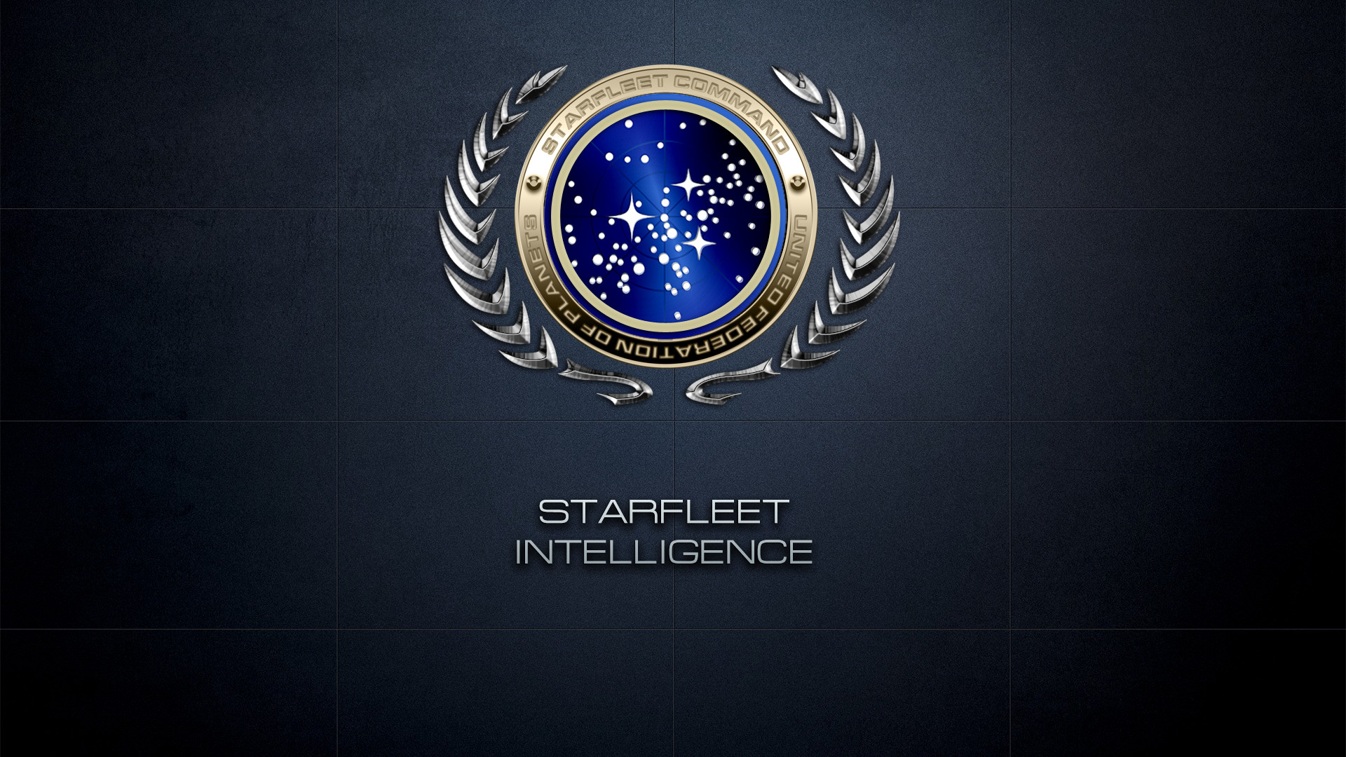 Res: 1920x1080, #STARFLEET INTELLIGENCE | Insignia of the United Federation of Planets and  alternative logo of the STARFLEET_INTEL network | #StarTrek