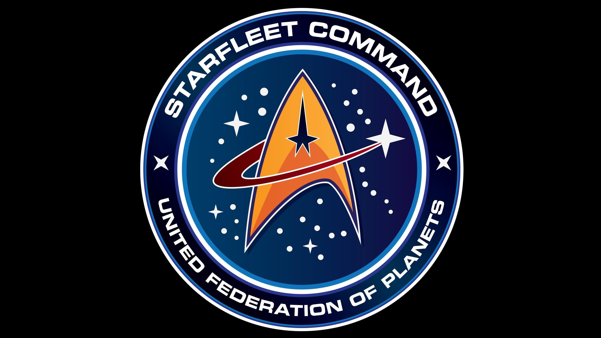 Res: 2560x1440, Starfleet Command in Star Trek