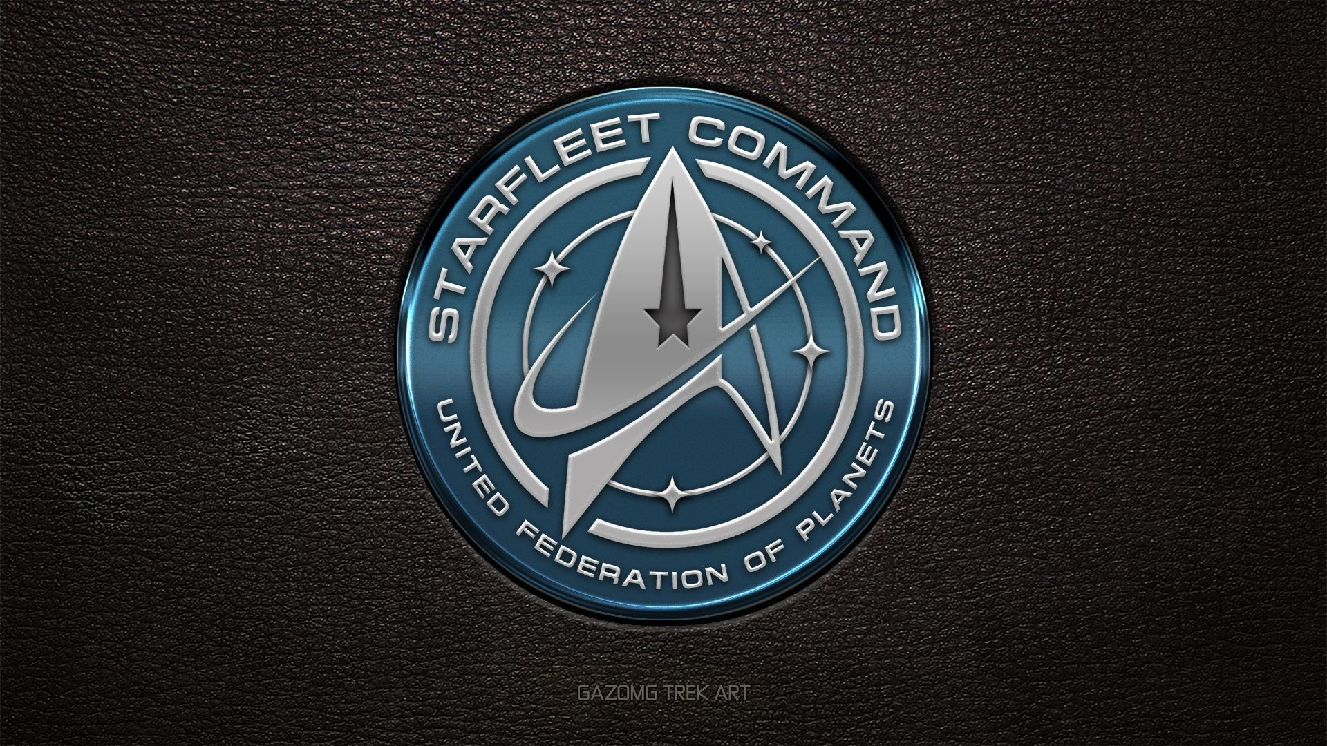 Res: 1920x1080, New Star Trek USS Discovery Starfleet Command Logo