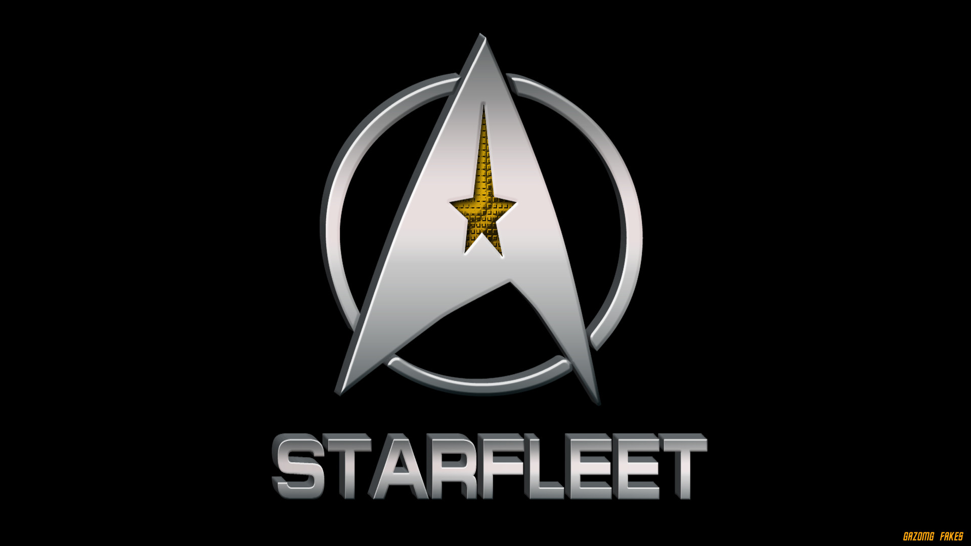 Res: 1920x1080, ... Star Trek Starfleet Logo by gazomg