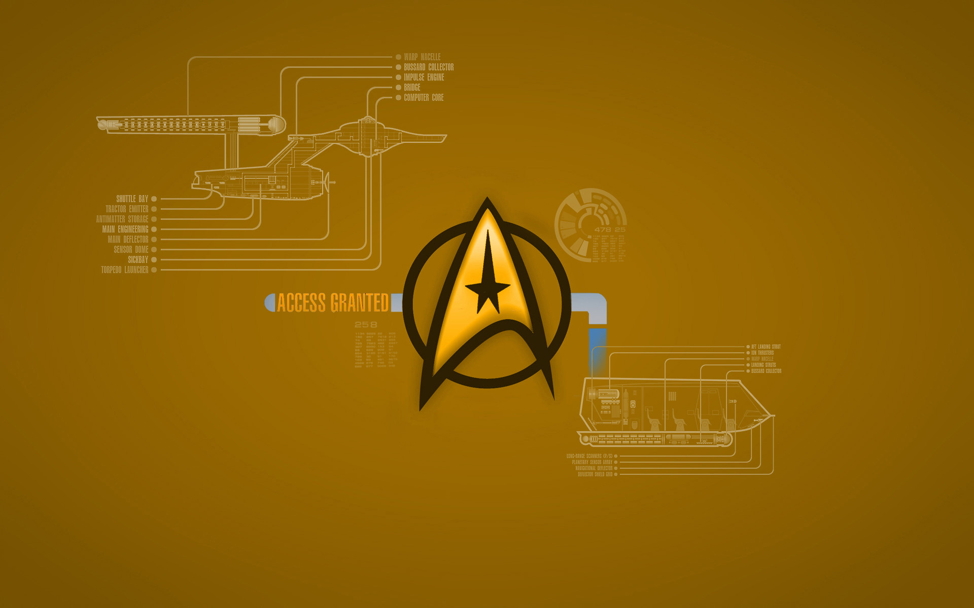 Res: 1920x1200, TOS Command Wallpaper by 1darthvader on DeviantArt