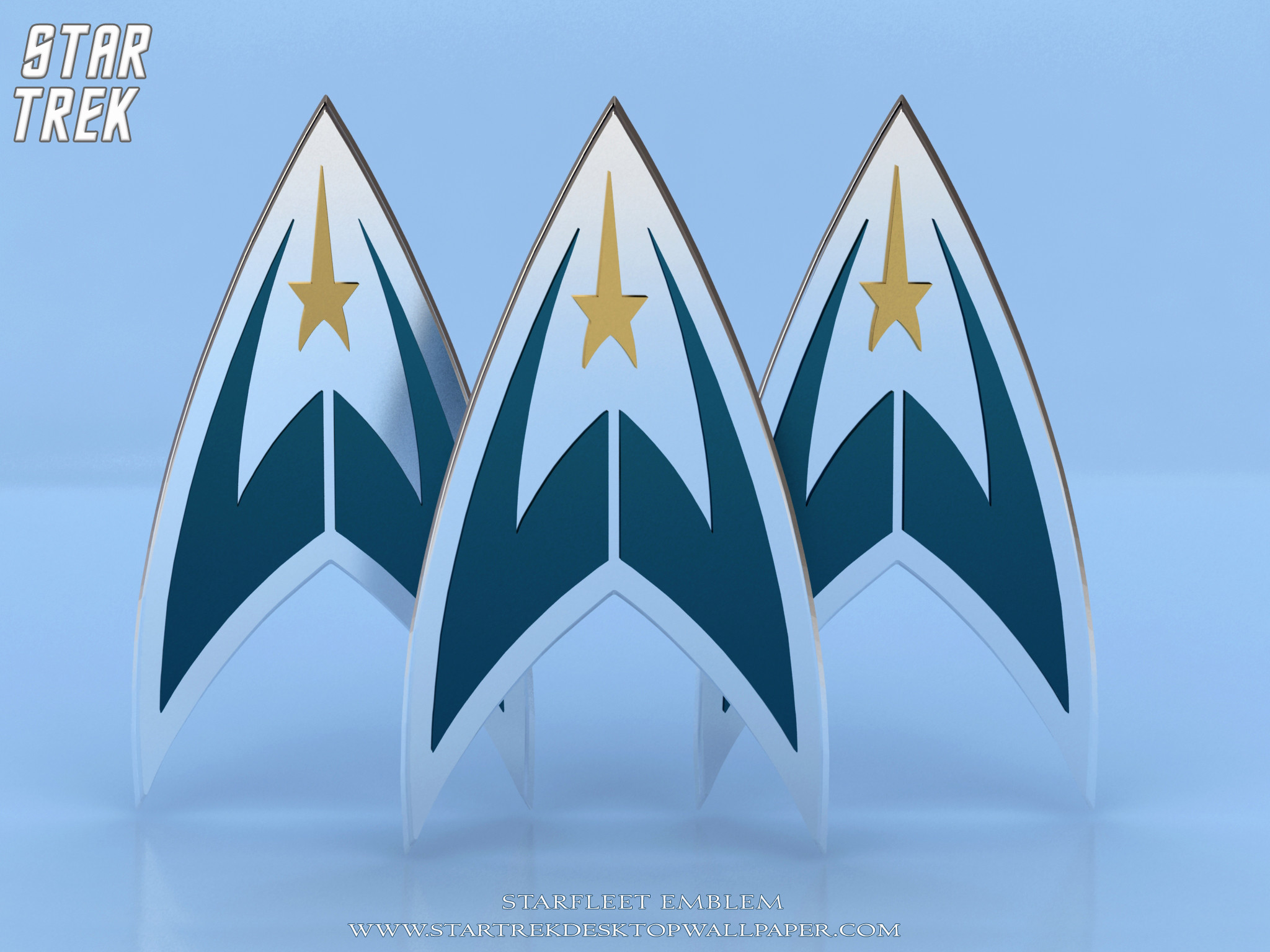 Res: 2048x1536, Star Trek Starfleet Emblem. Free Star Trek computer desktop wallpaper,  images, pictures download