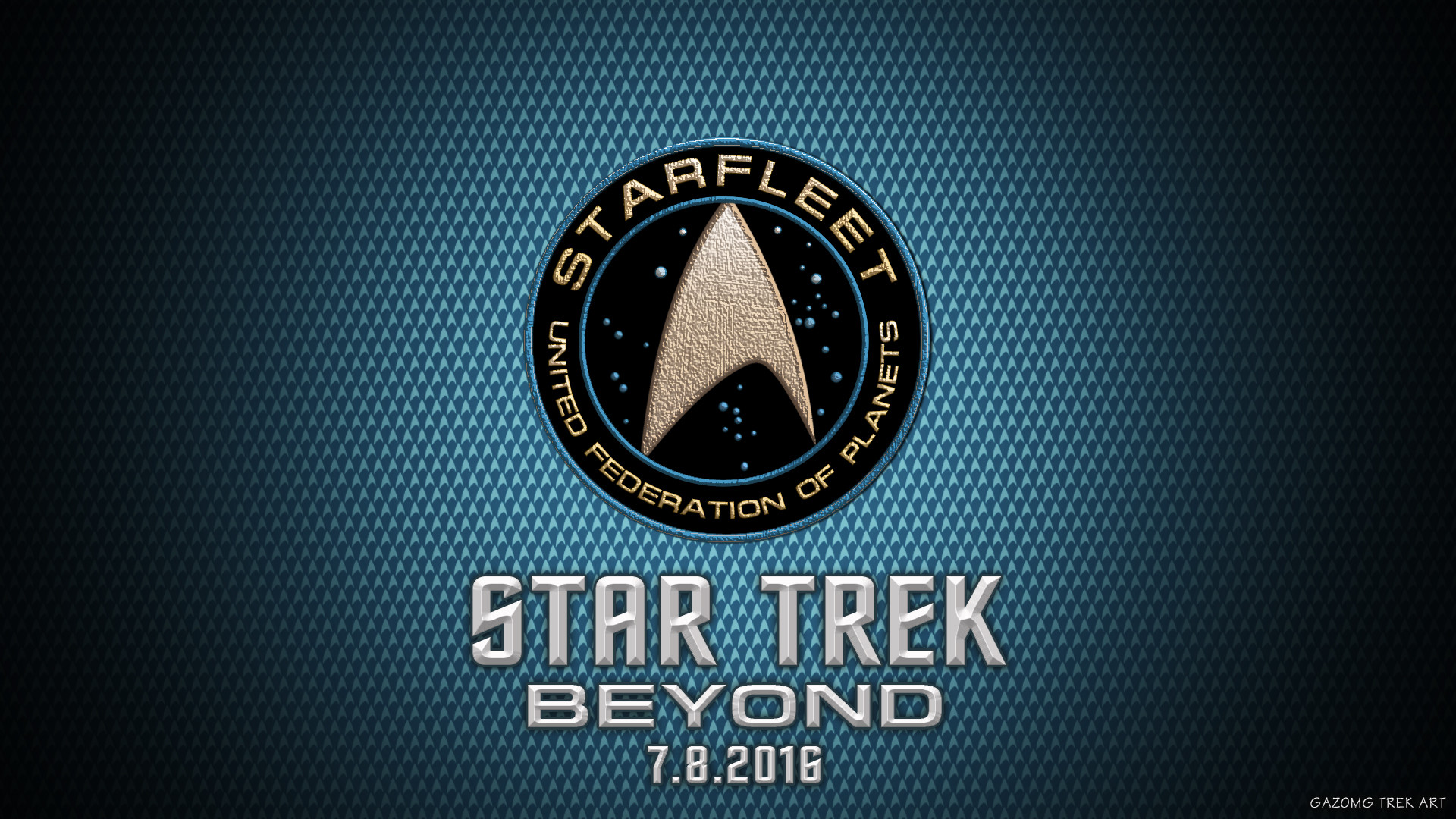 Res: 1920x1080, New Star Trek Beyond Logo Wallpaper by gazomg on DeviantArt