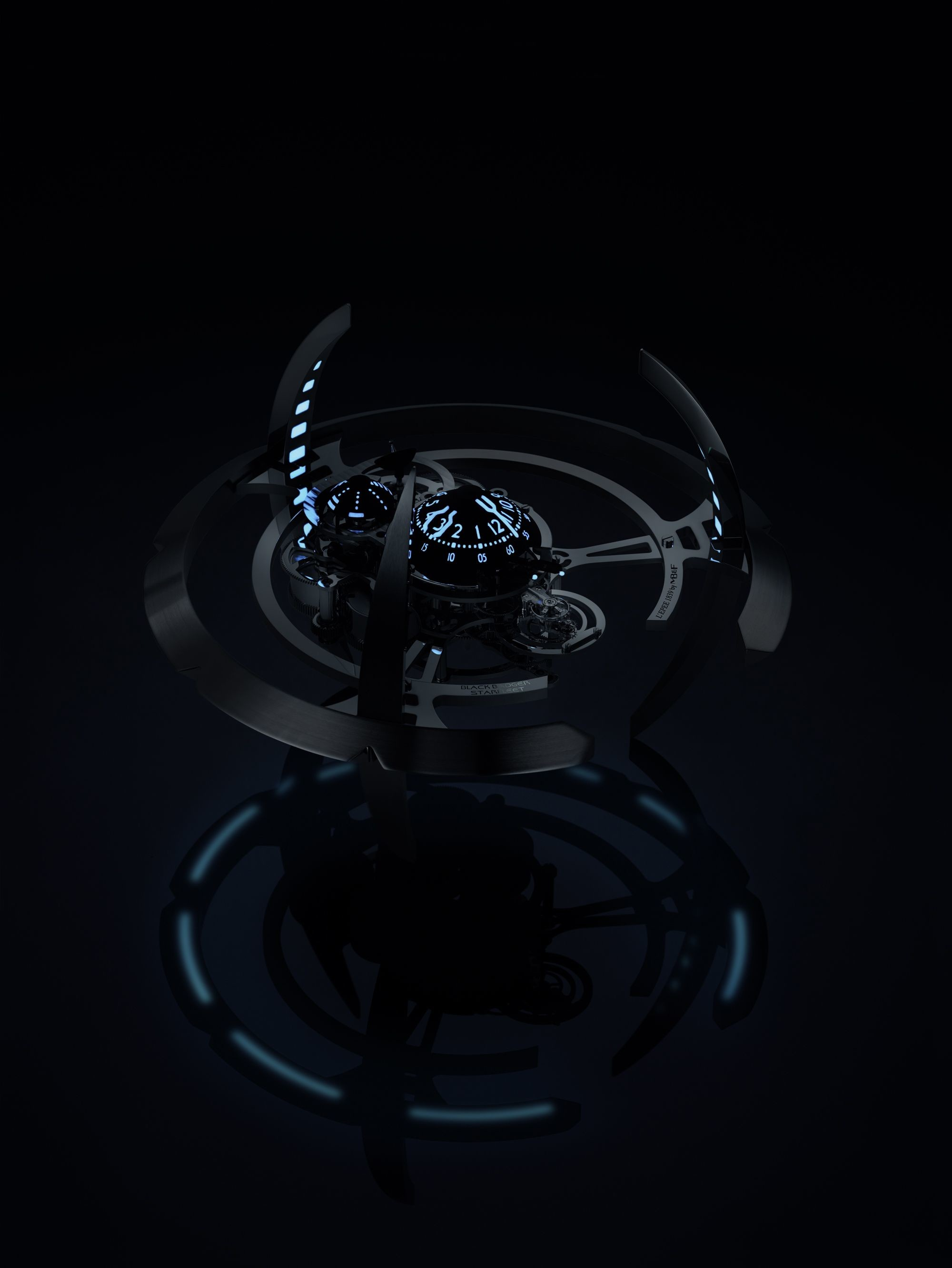 Res: 2000x2662, Starfleet Machine Black Badger by L'Epée 1839 + MB&F